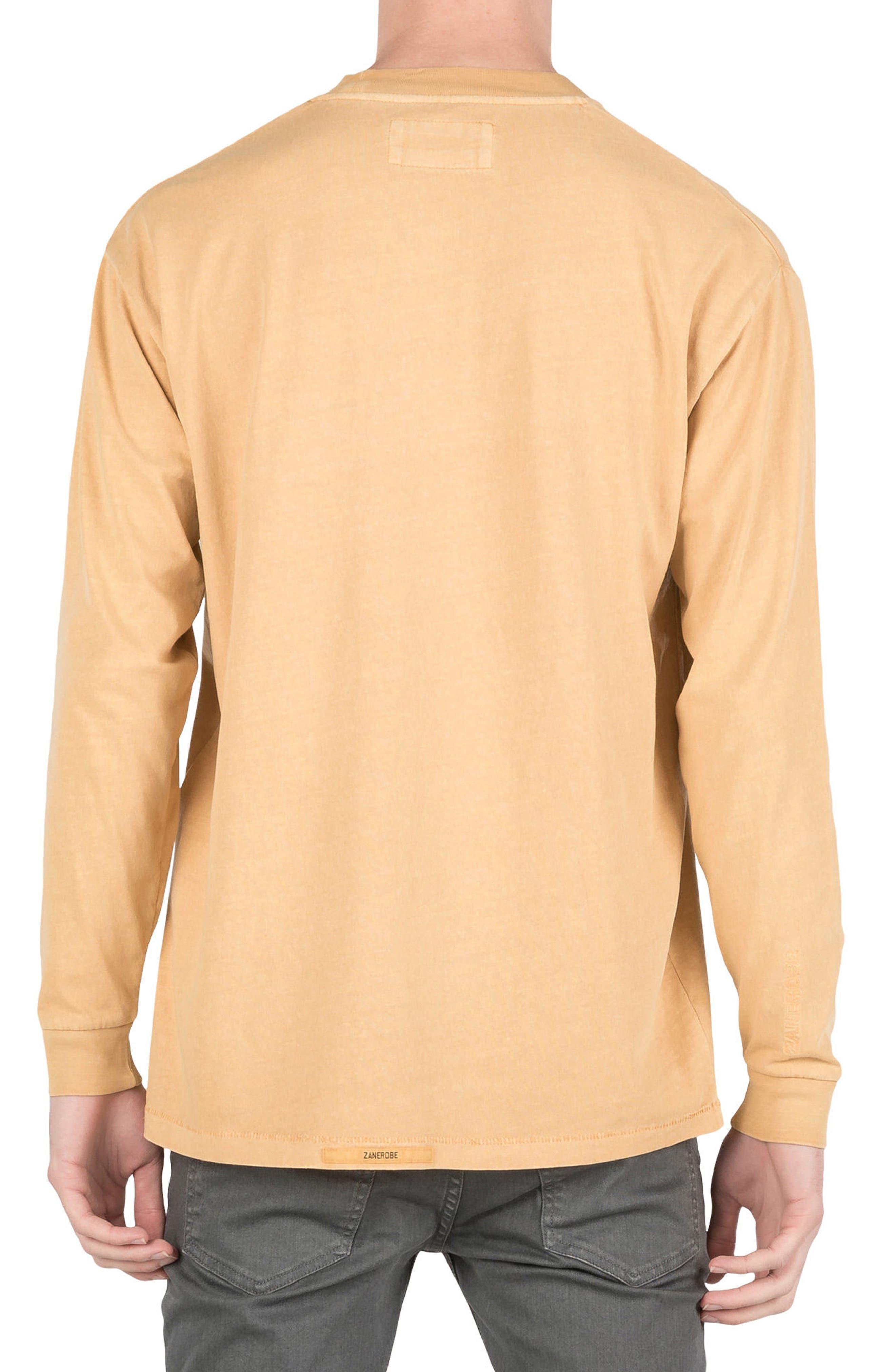 Box T-Shirt,                             Alternate thumbnail 2, color,                             Saffron