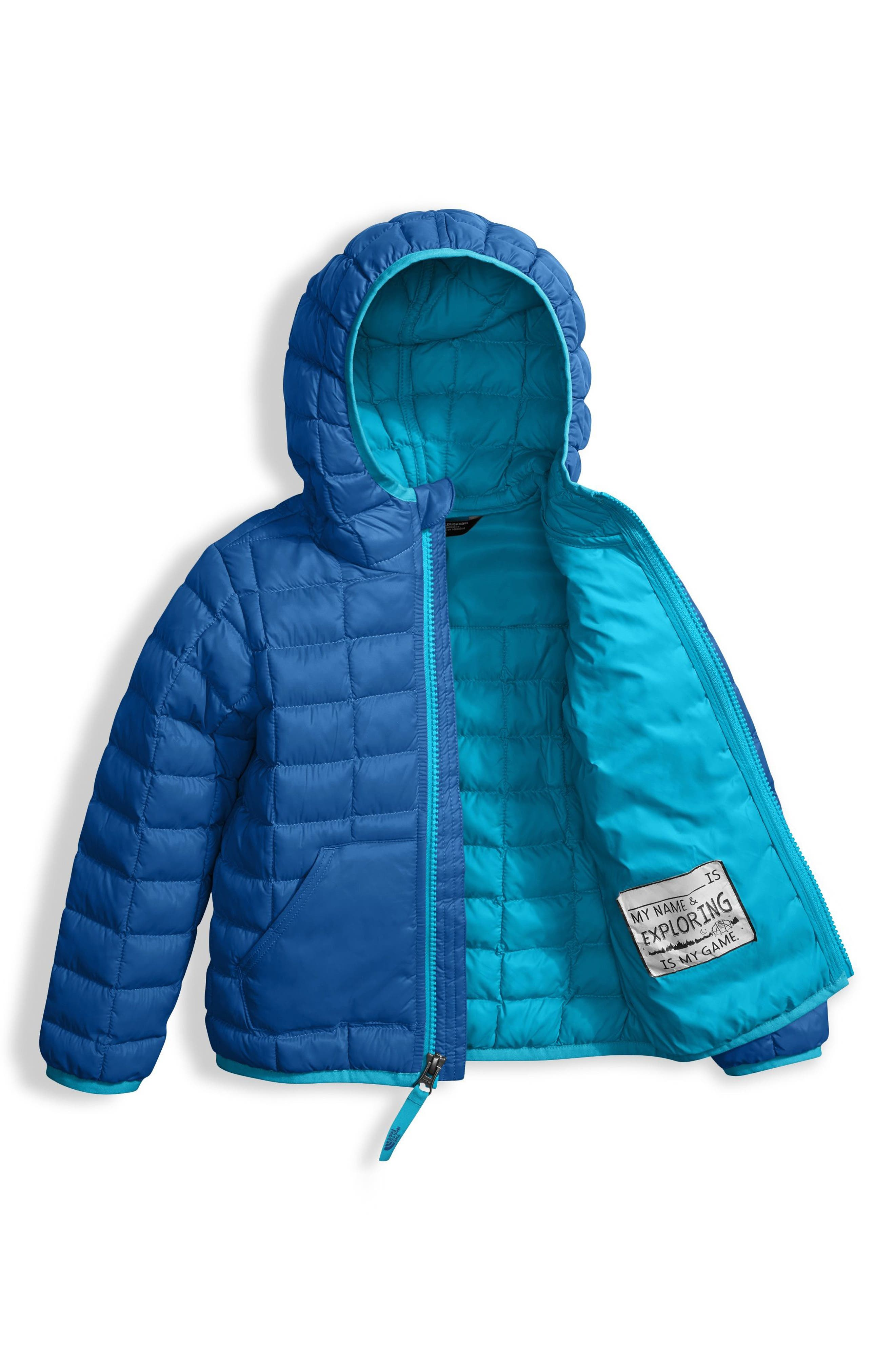 ThermoBall<sup>™</sup> PrimaLoft<sup>®</sup> Hooded Jacket,                             Alternate thumbnail 3, color,                             Turkish Sea