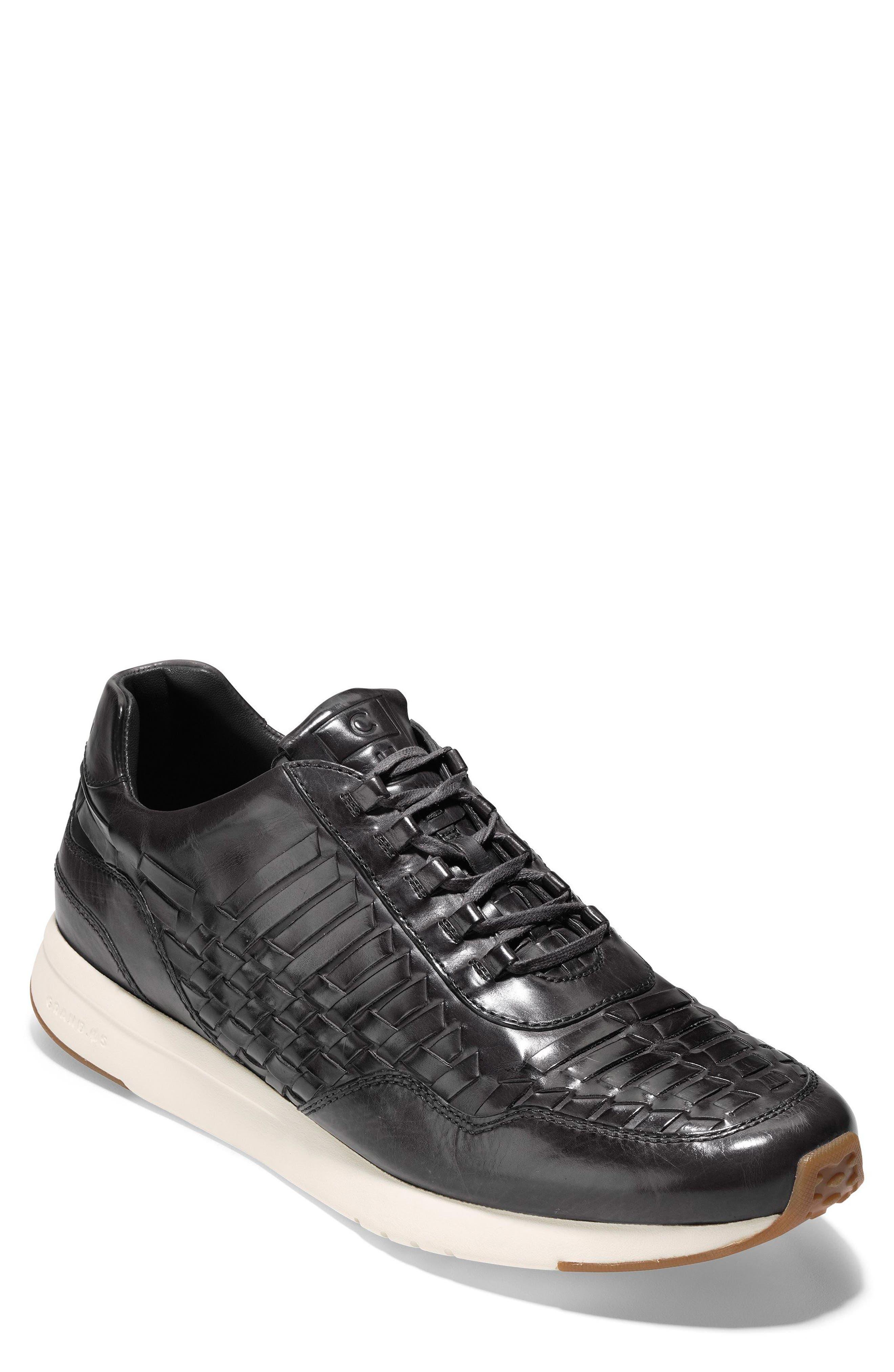 GrandPrø Runner Huarache Sneaker,                         Main,                         color, Magnet Woven Burnish