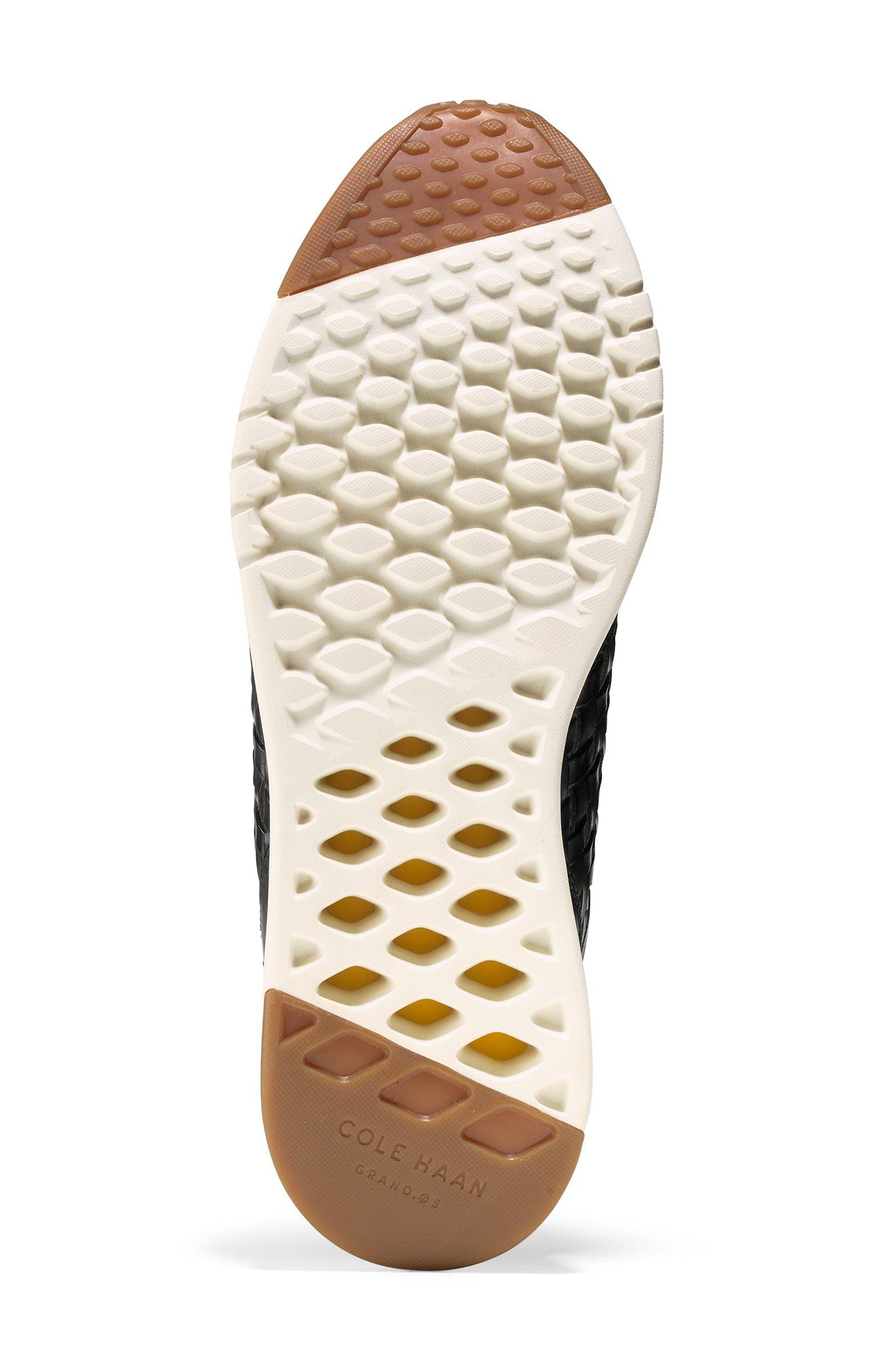 GrandPrø Runner Huarache Sneaker,                             Alternate thumbnail 6, color,                             Magnet Woven Burnish