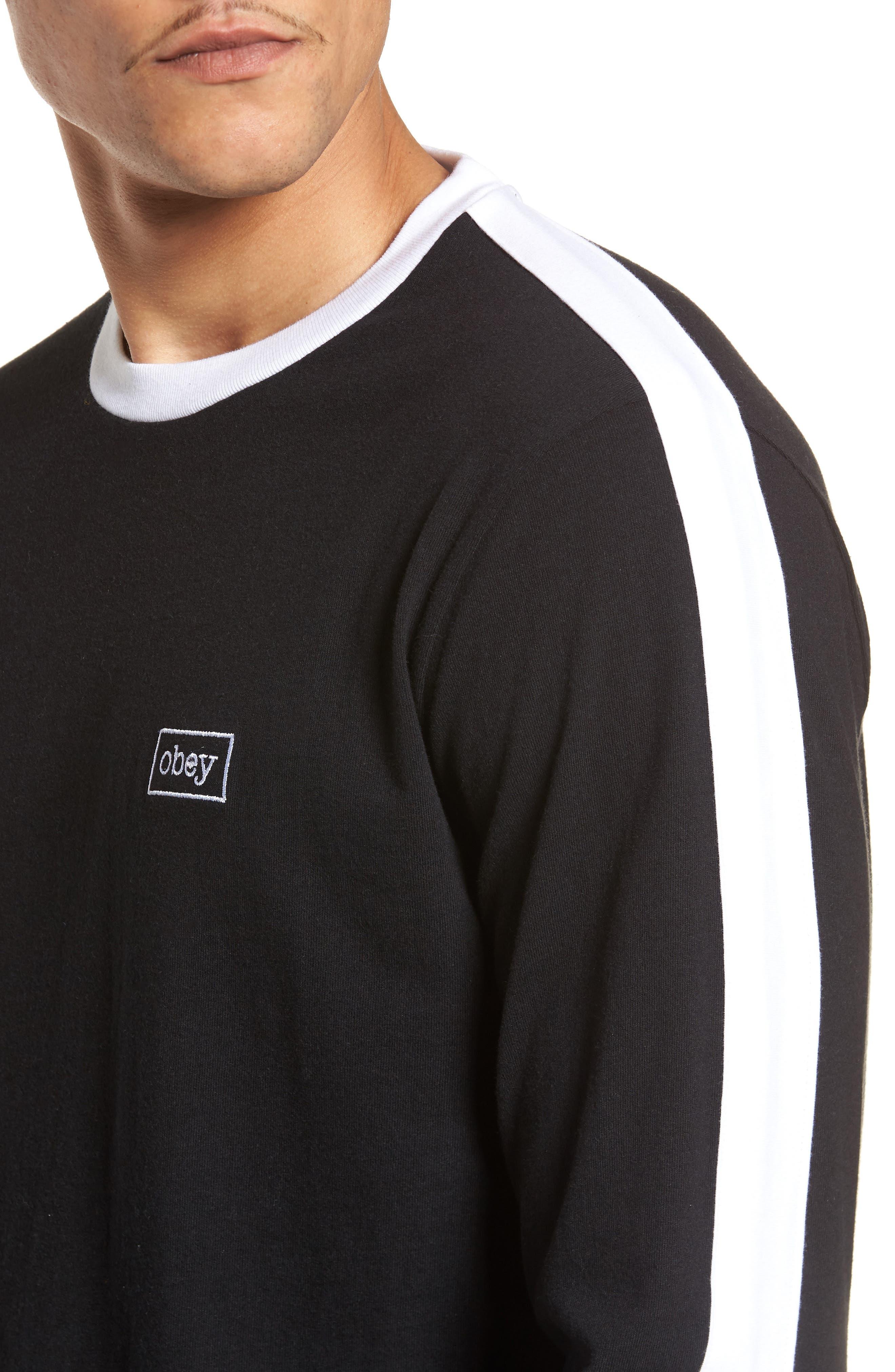 Borstal T-Shirt,                             Alternate thumbnail 4, color,                             Black
