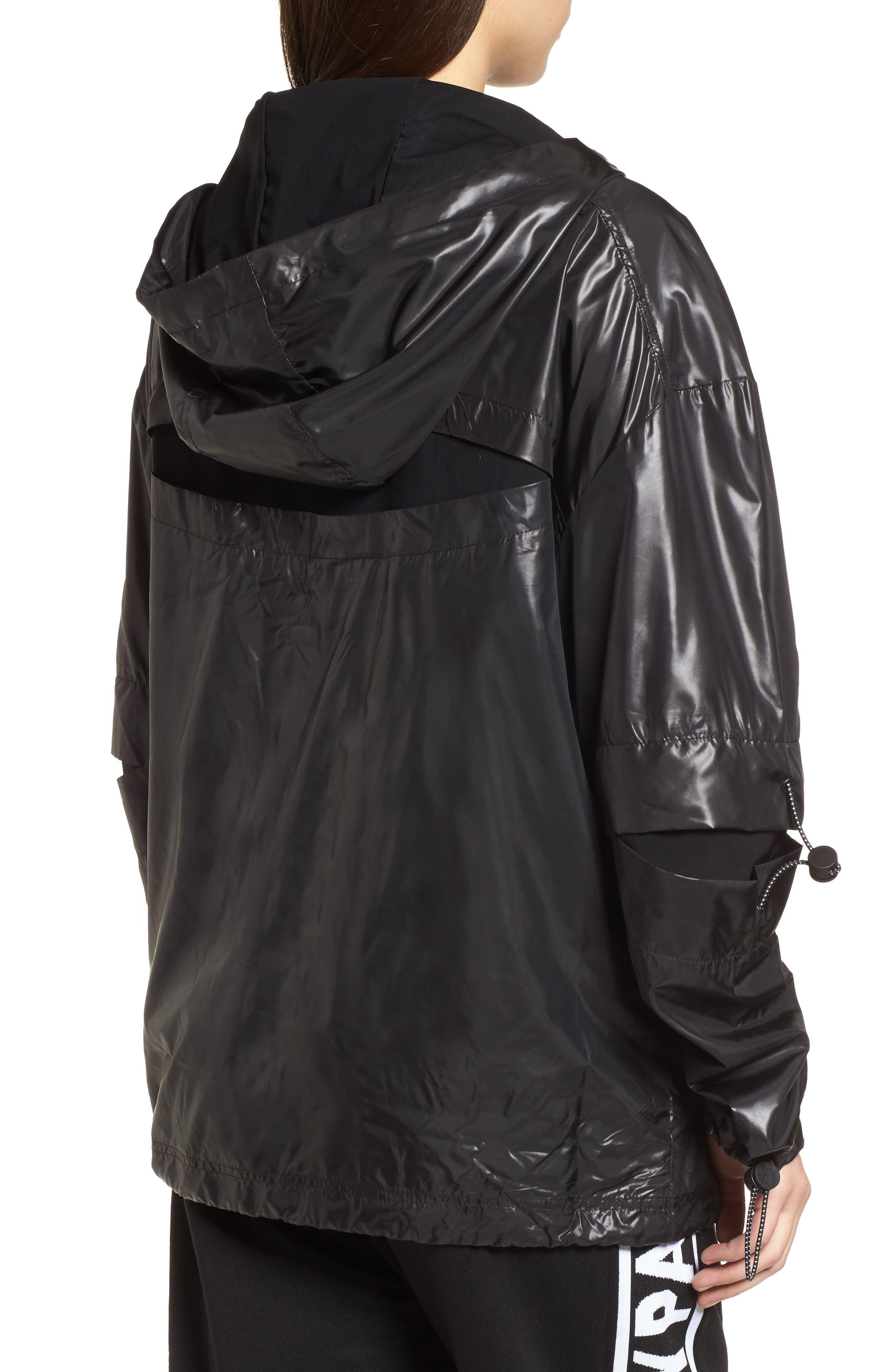 Alternate Image 2  - IVY PARK® Hi Shine Lace-Up Jacket