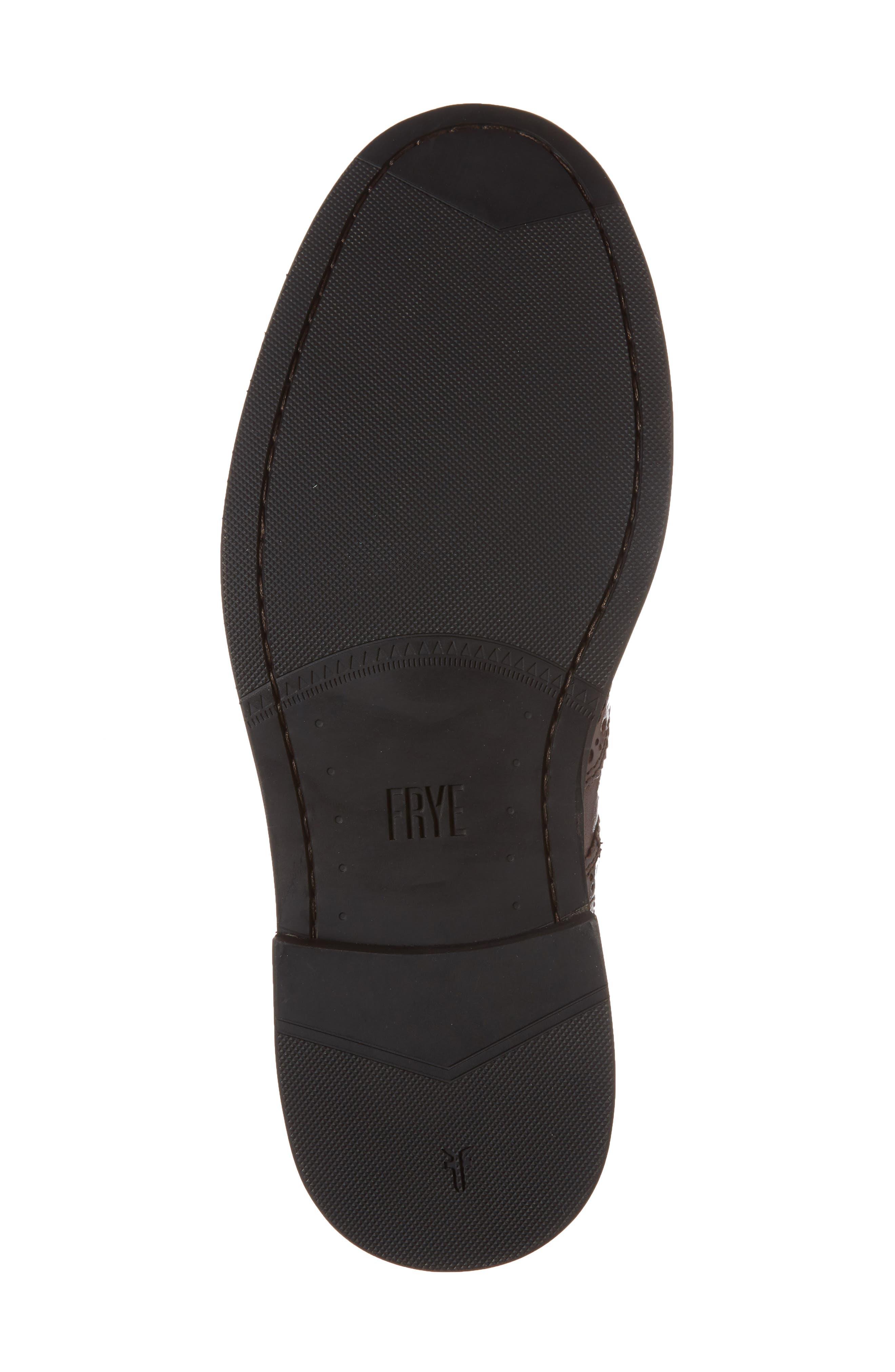 Graham Wingtip Boot,                             Alternate thumbnail 6, color,                             Cognac Leather