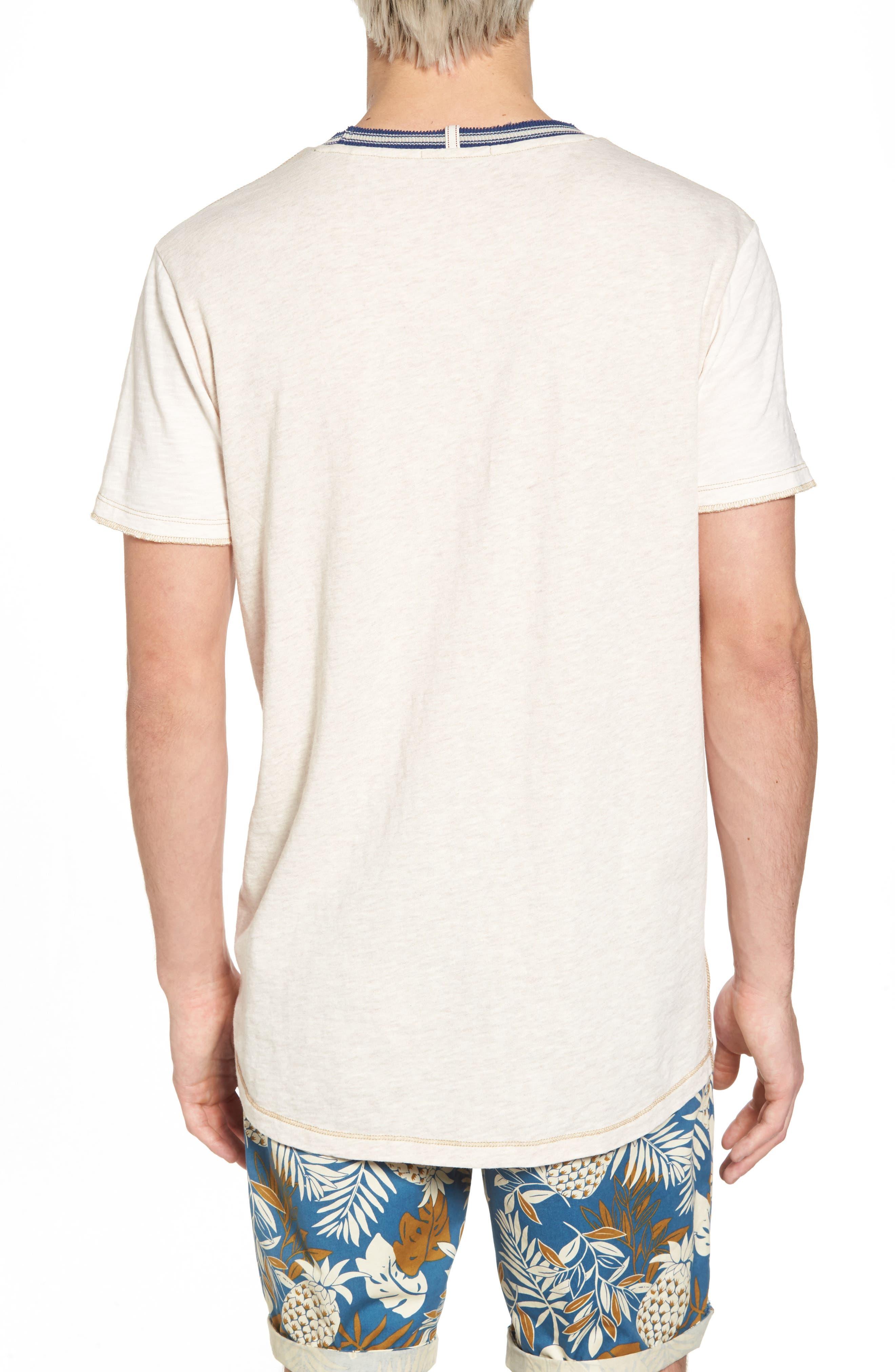 Contrast T-Shirt,                             Alternate thumbnail 2, color,                             Combo A