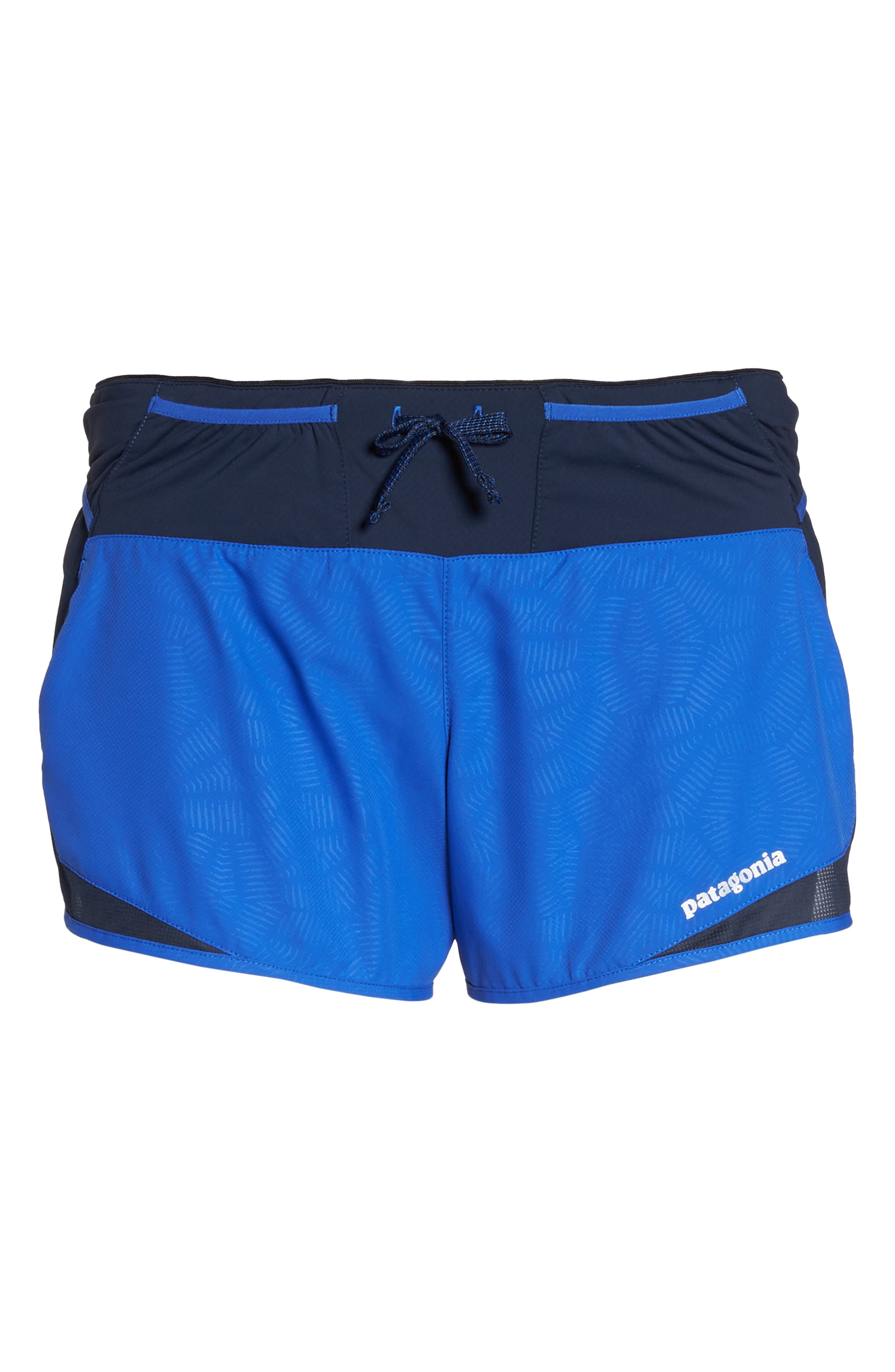 Strider Pro Trail Running Shorts,                             Alternate thumbnail 7, color,                             Hexy - Imperial Blue