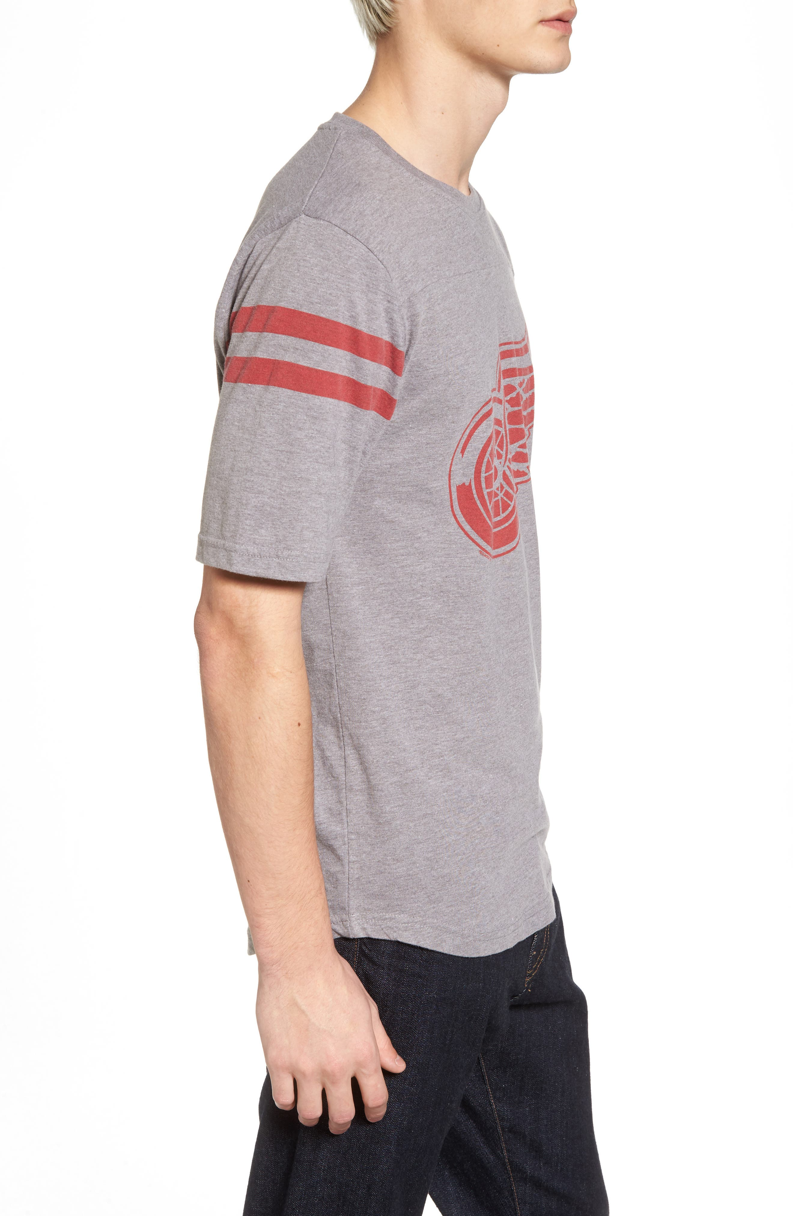 Alternate Image 3  - American Needle Crosby Detroit Red Wings T-Shirt