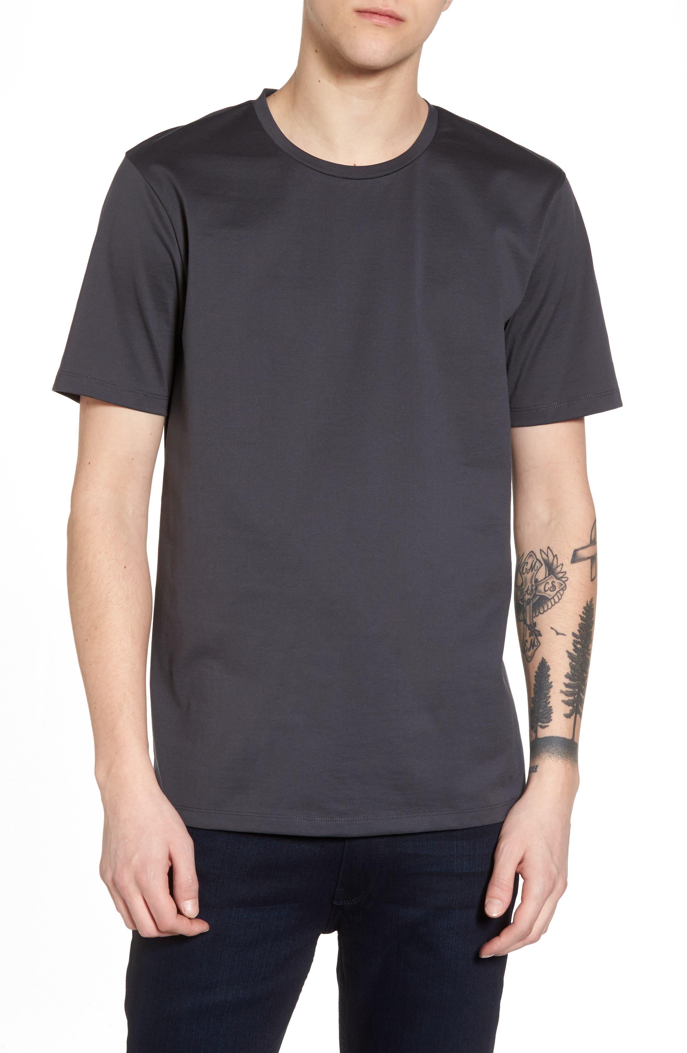 Calibrate Mercerized Cotton Crewneck T-Shirt