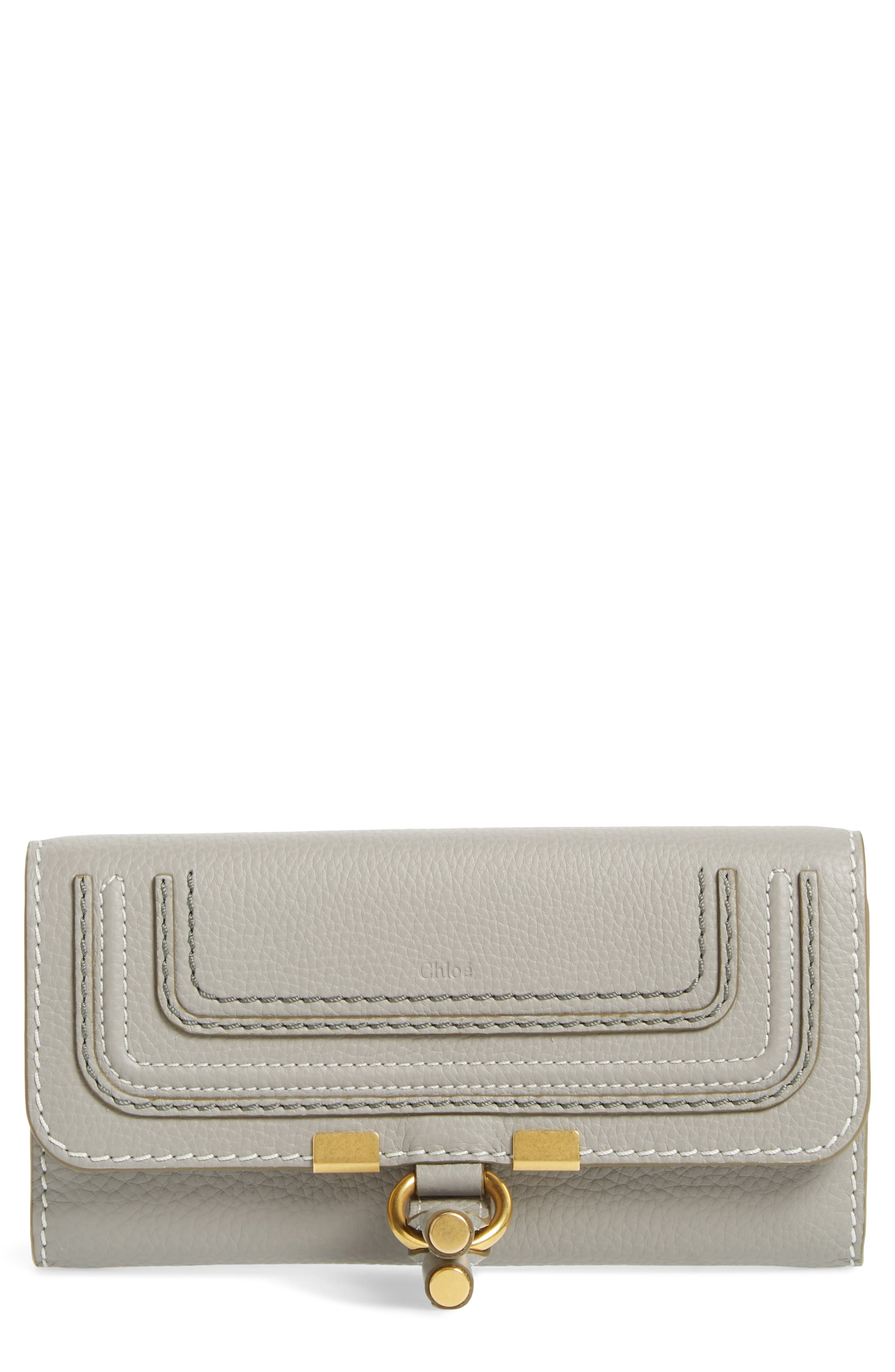 Chloé 'Marcie - Long' Leather Flap Wallet