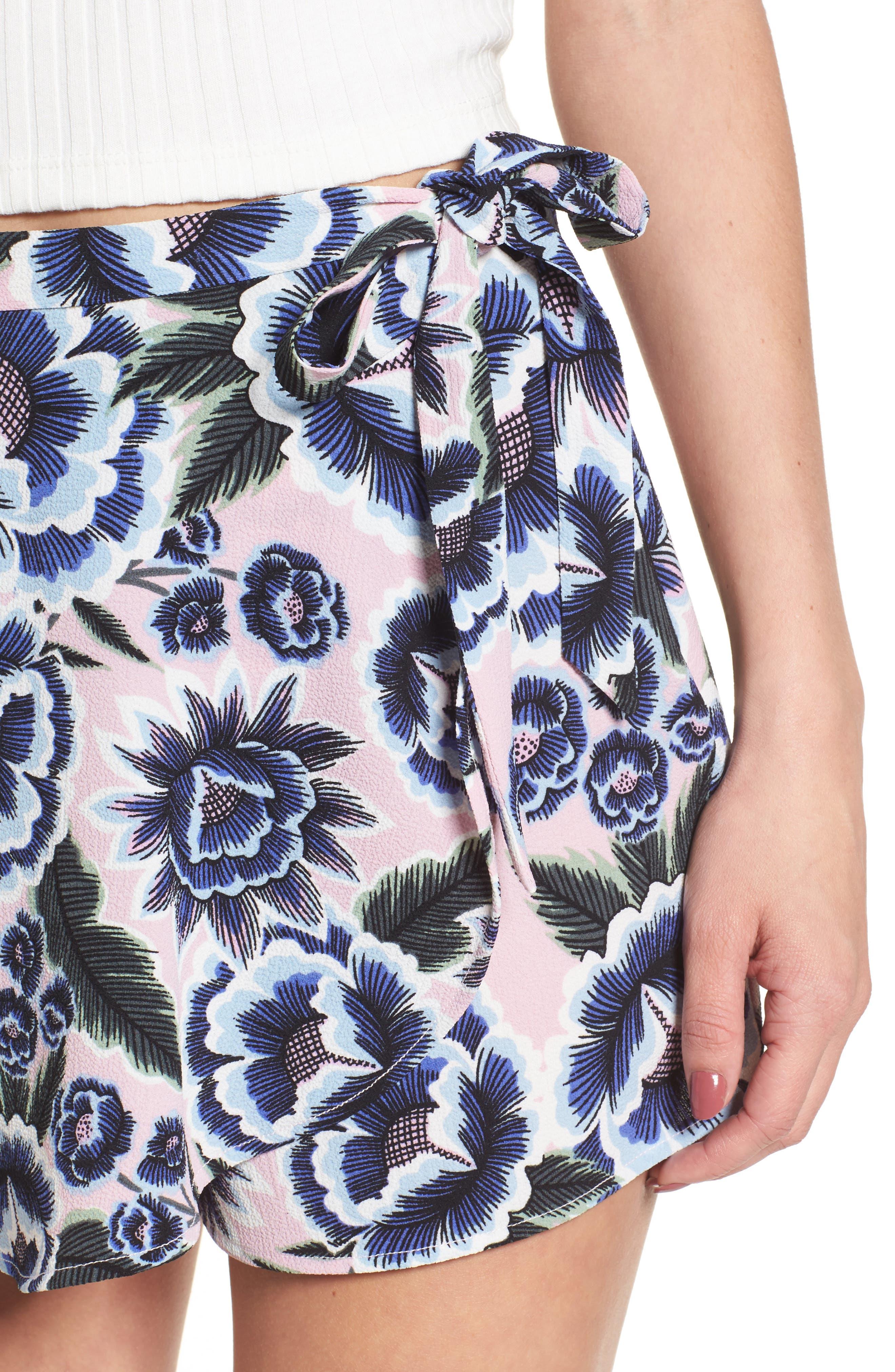 The Great Wrap Shorts,                             Alternate thumbnail 4, color,                             Baja Bloom