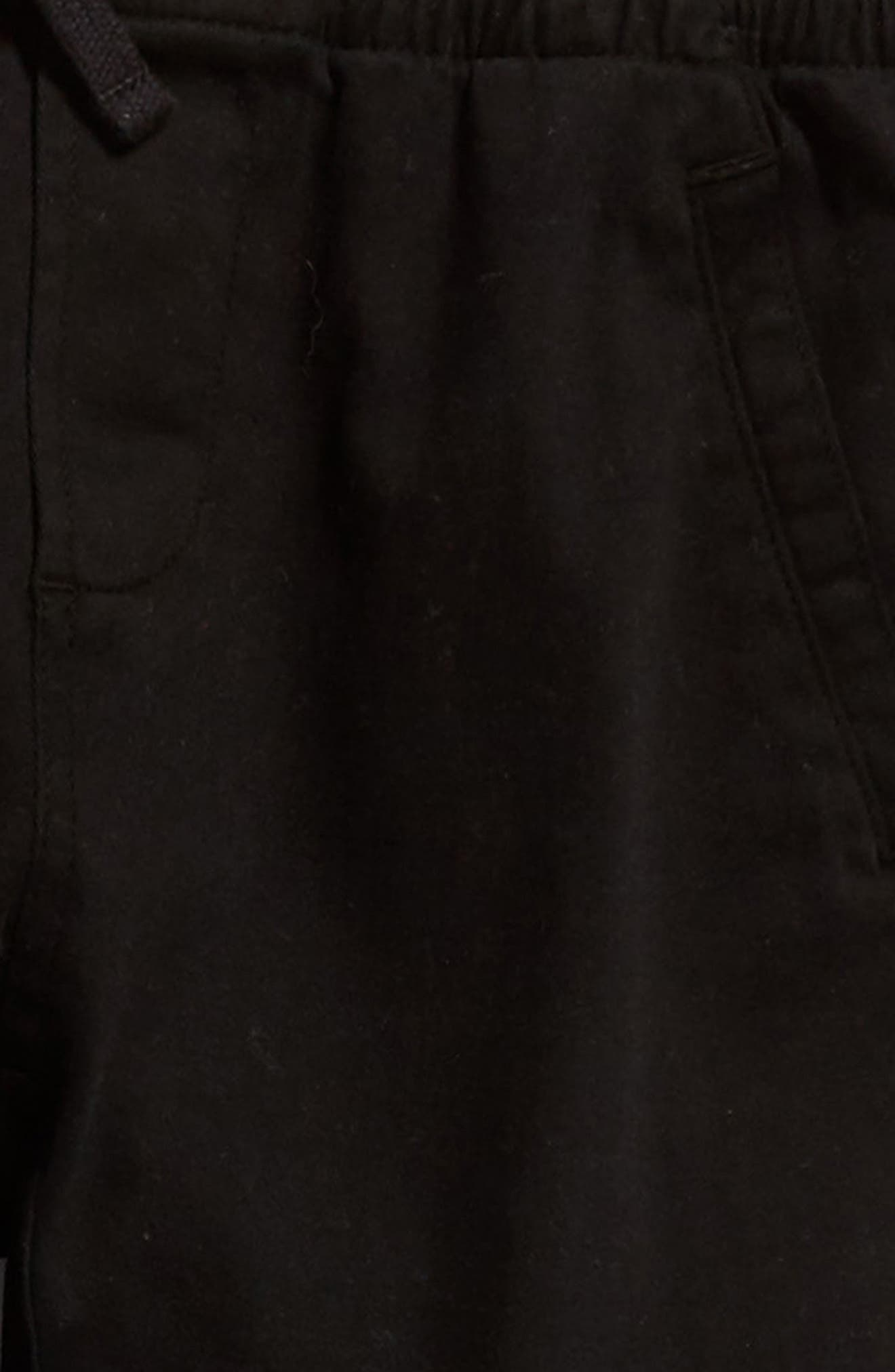 Washed Sweatpants,                             Alternate thumbnail 4, color,                             Black