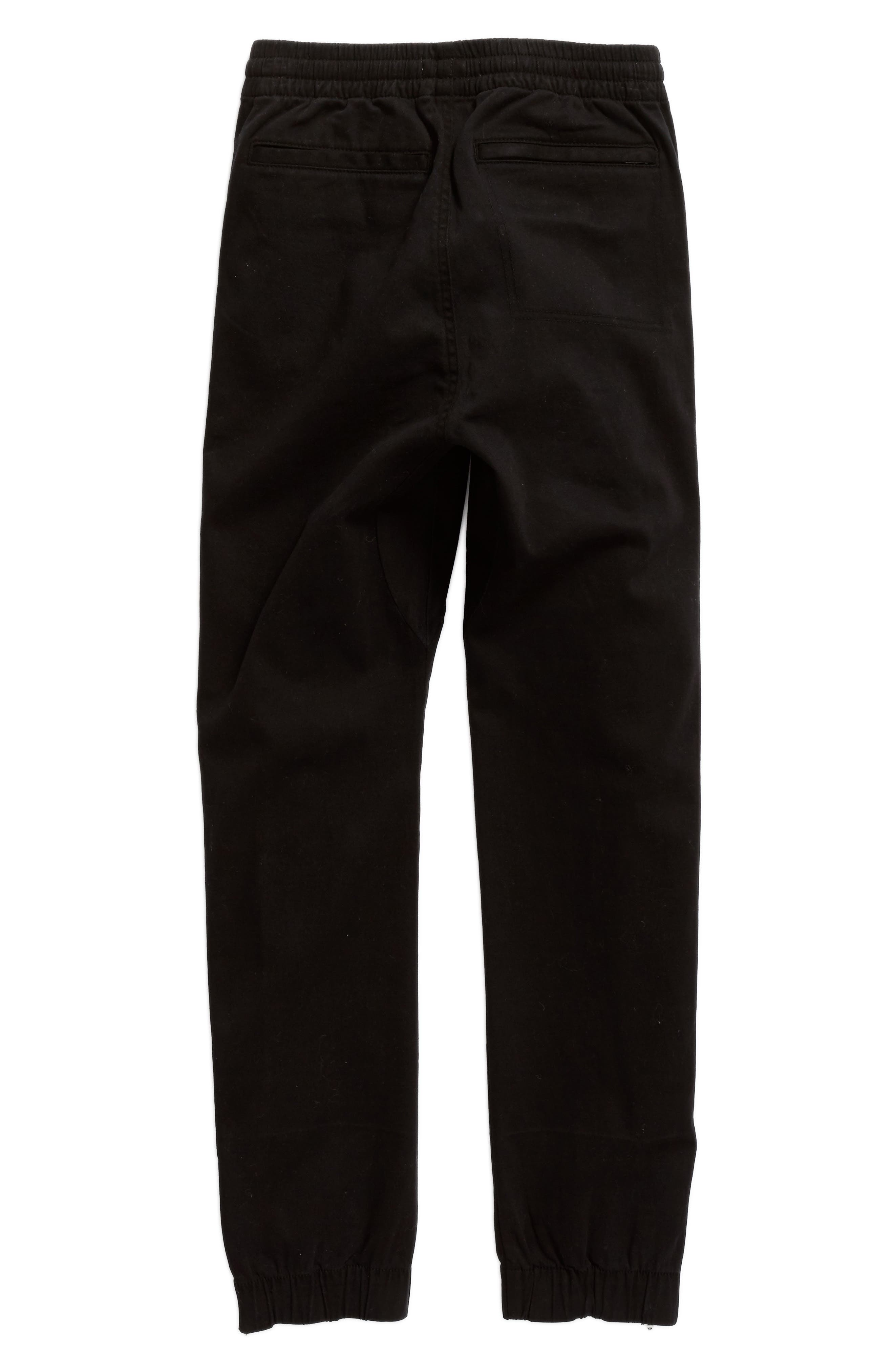 Washed Sweatpants,                             Alternate thumbnail 5, color,                             Black