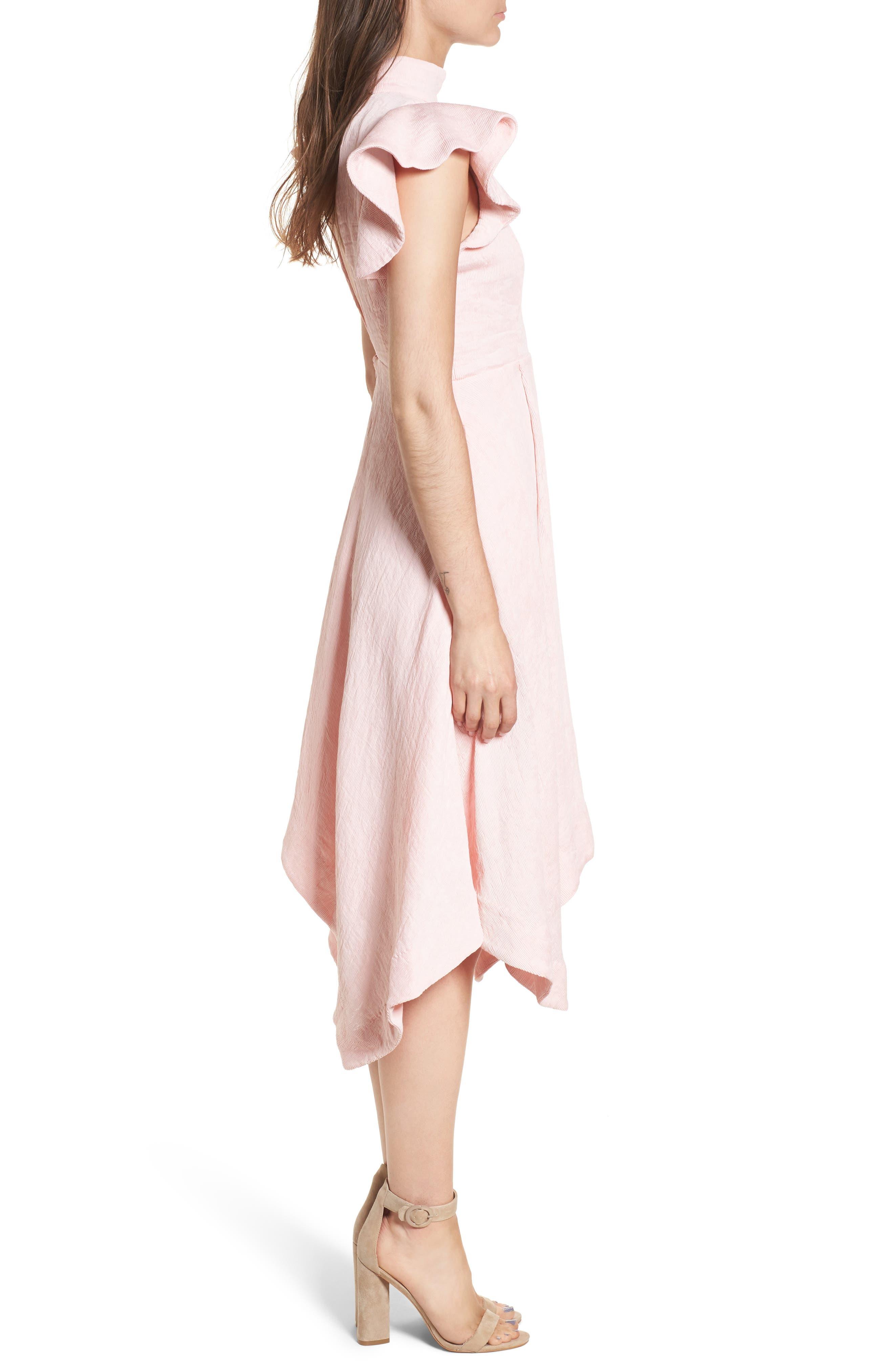 Alternate Image 3  - Elliatt Arcadia Handkerchief Hem Dress