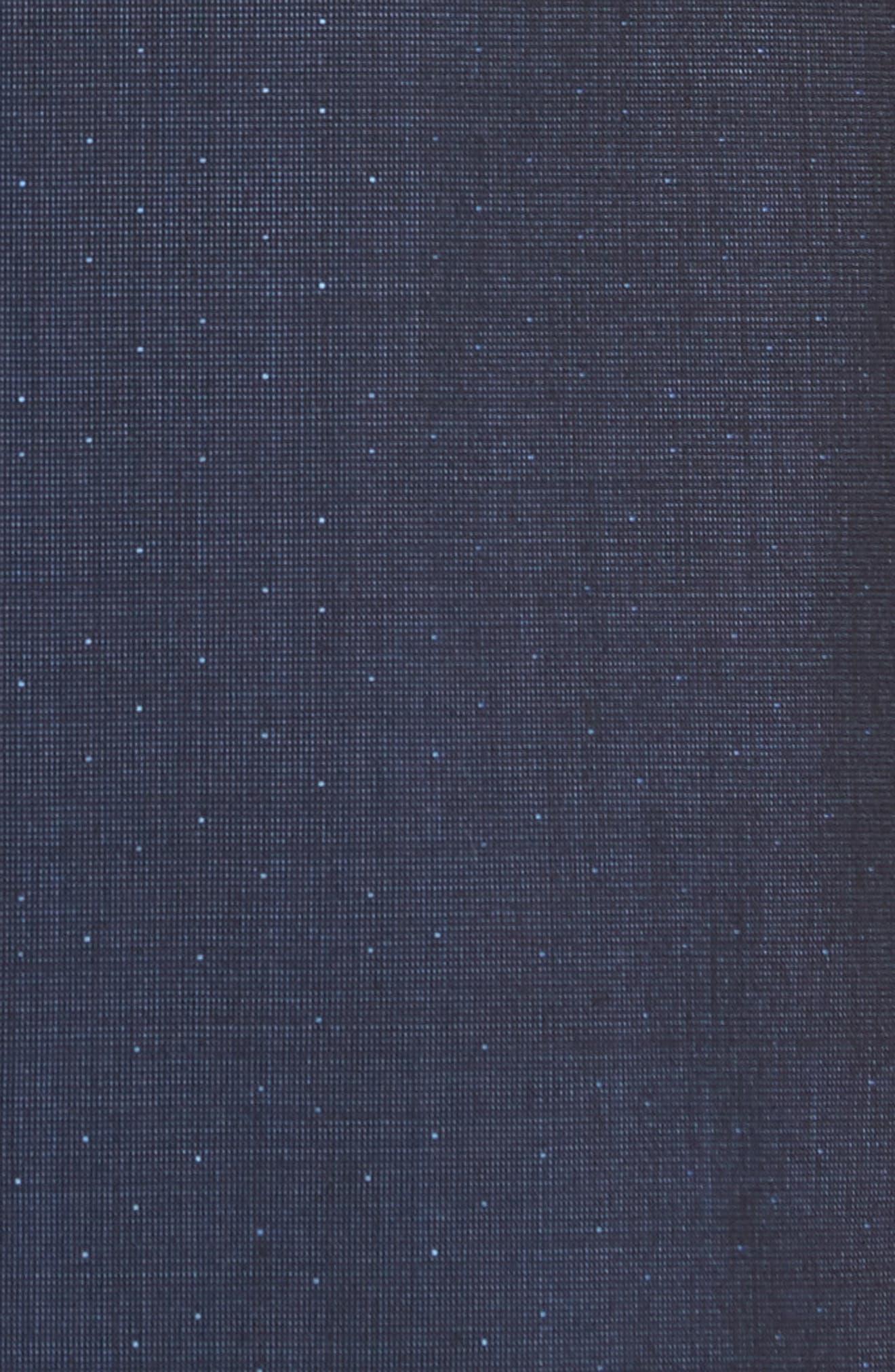 Roger Extra Slim Fit Dot Wool Suit,                             Alternate thumbnail 5, color,                             Dark Blue
