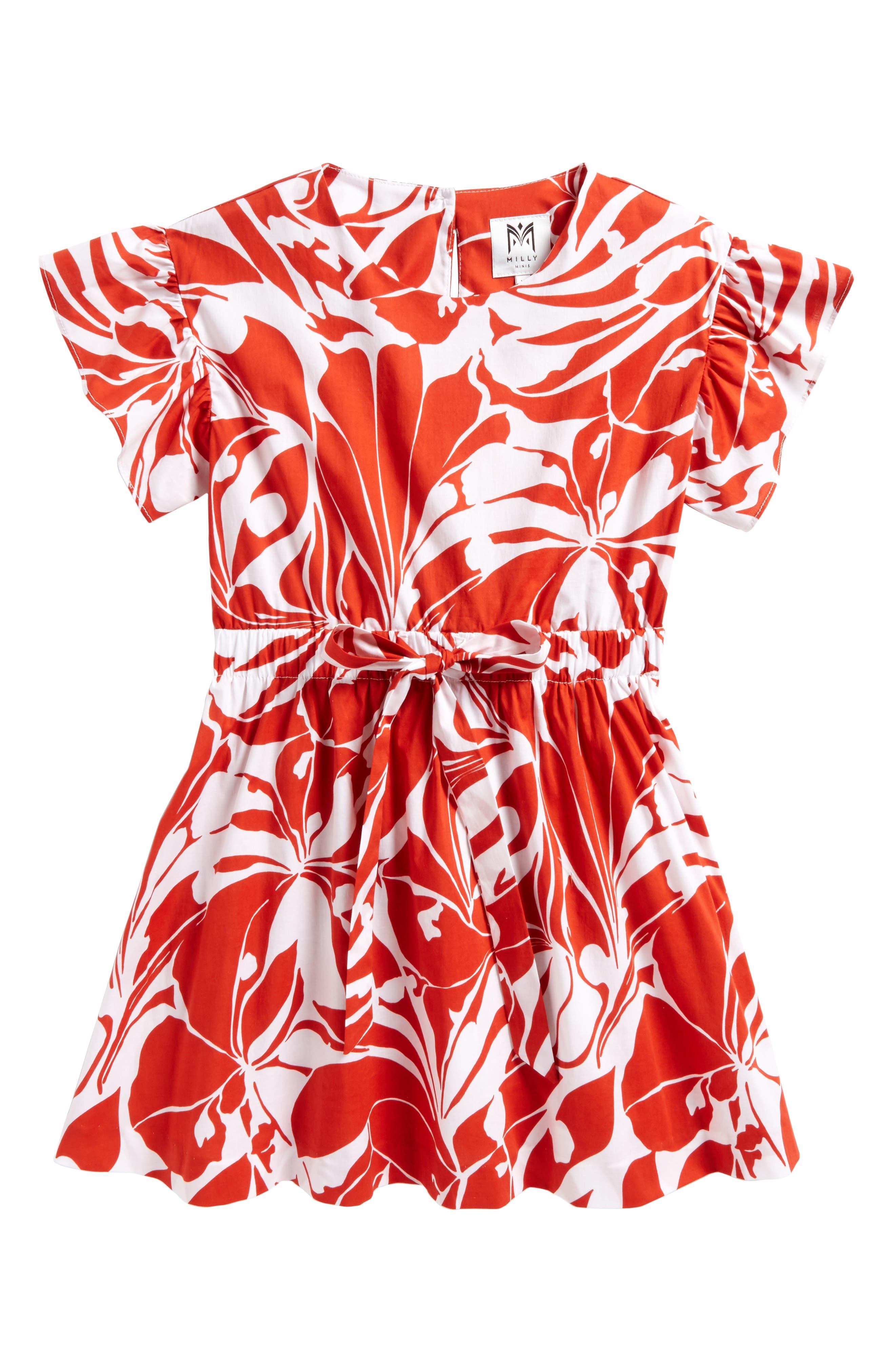Milly Minis Chandlar Dress (Big Girls)
