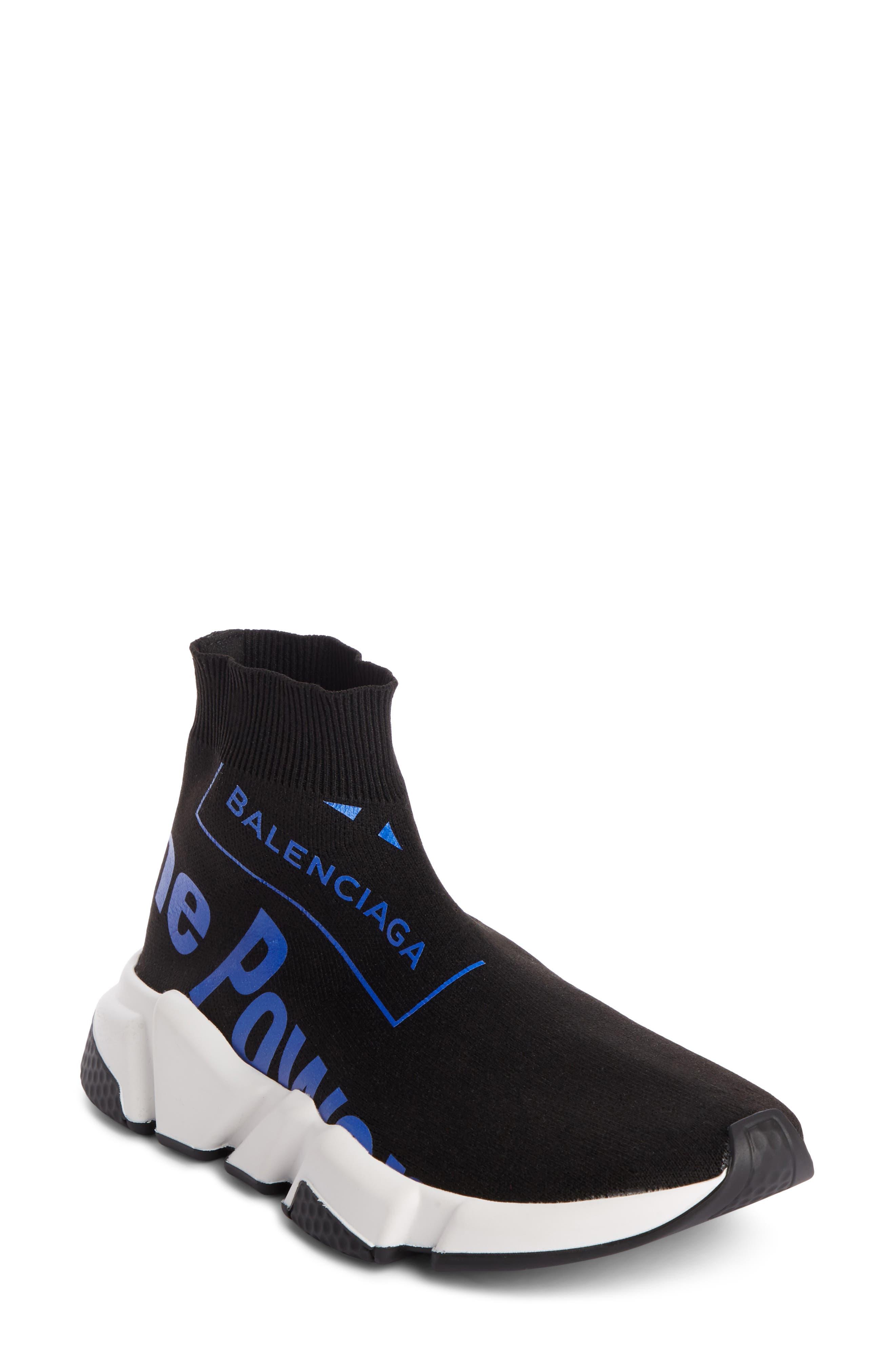 Dream Speed Trainer Sneaker,                             Main thumbnail 1, color,                             Black/ Blue