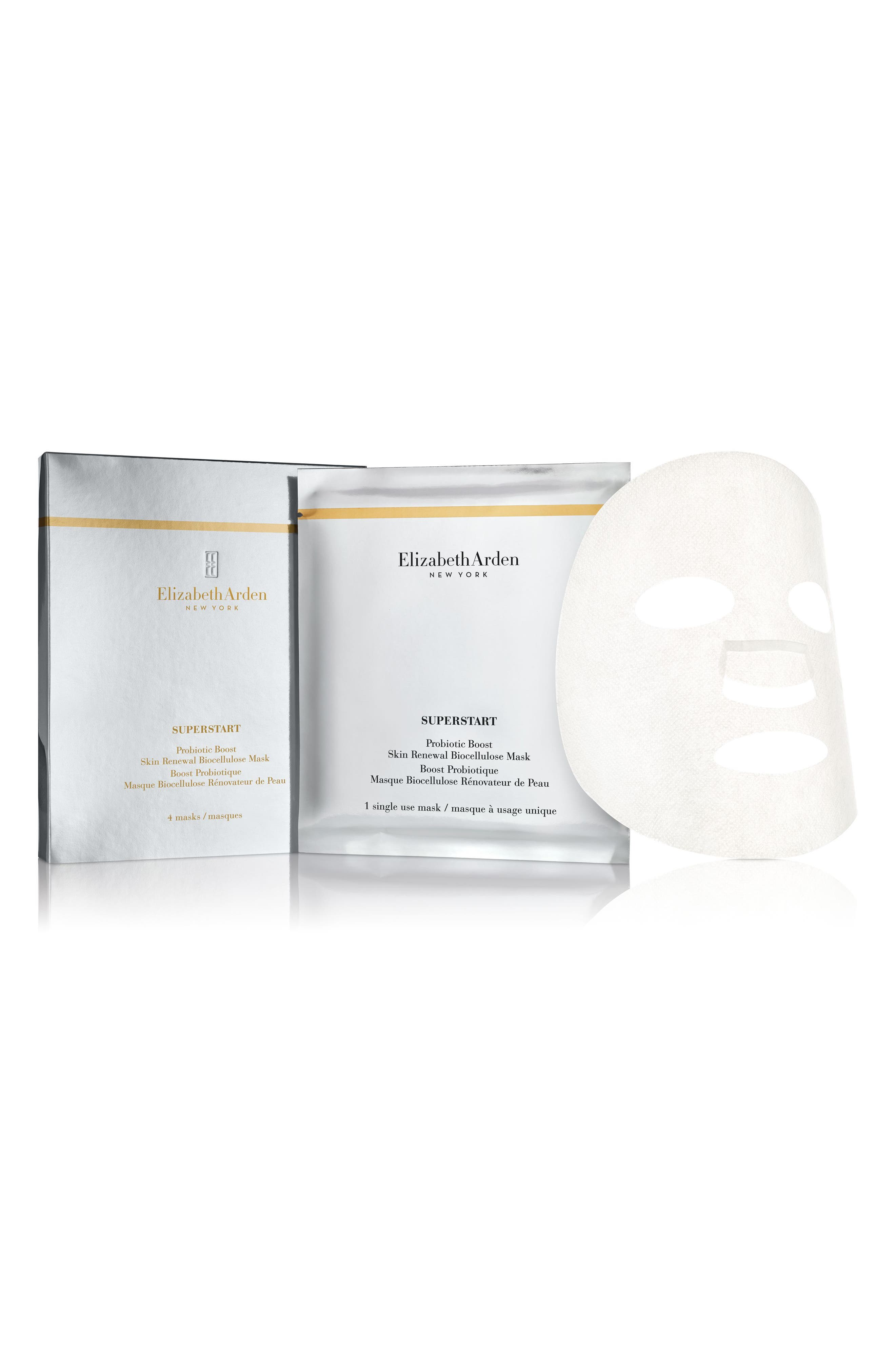 SUPERSTART Probiotic Boost Mask,                             Alternate thumbnail 2, color,                             No Color