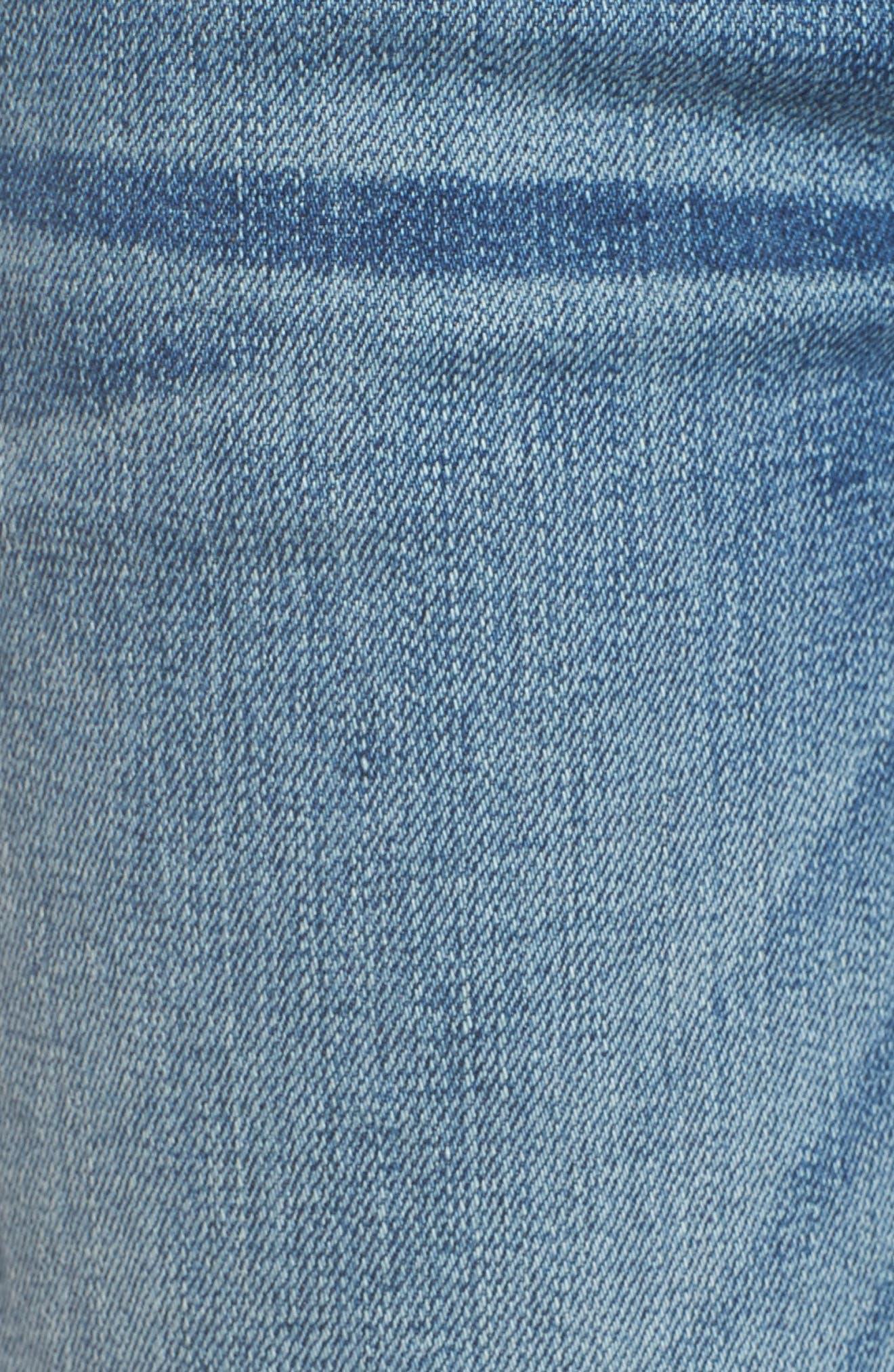 Hudson Collin Skinny Jeans,                             Alternate thumbnail 6, color,                             Hushed