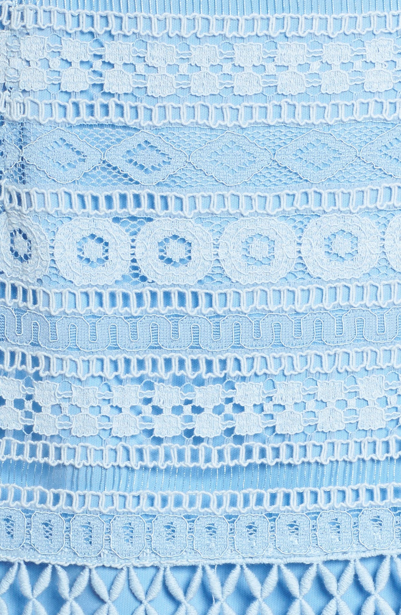 Lace Dress,                             Alternate thumbnail 5, color,                             Blue French