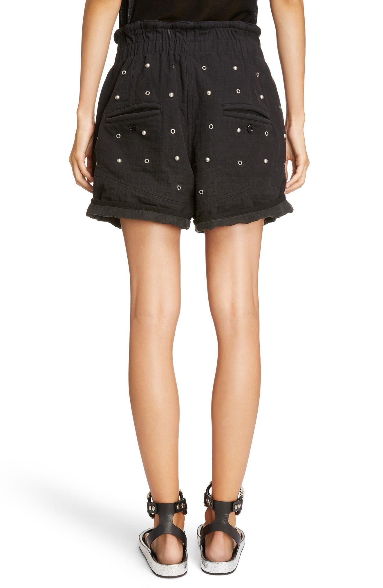 Alternate Image 3  - Isabel Marant Grommet & Stud Shorts