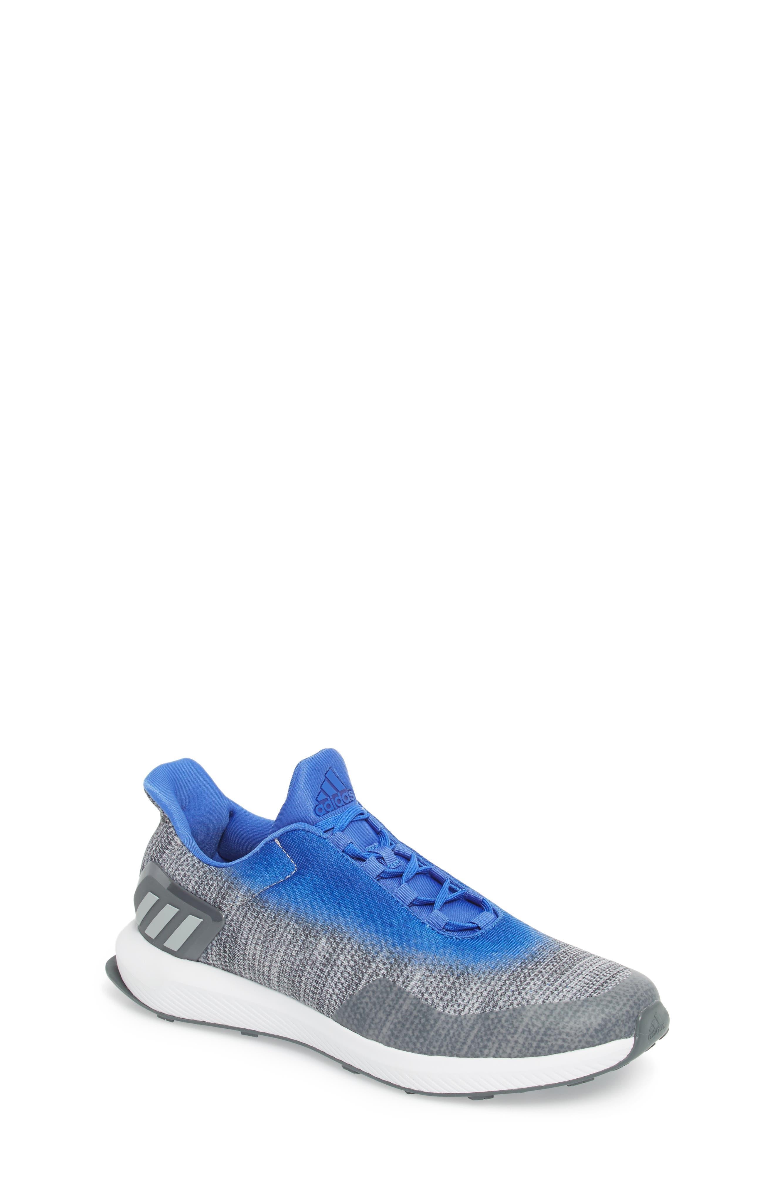 RapidaRun Uncaged Sneaker,                             Main thumbnail 1, color,                             Grey / Grey / Blue