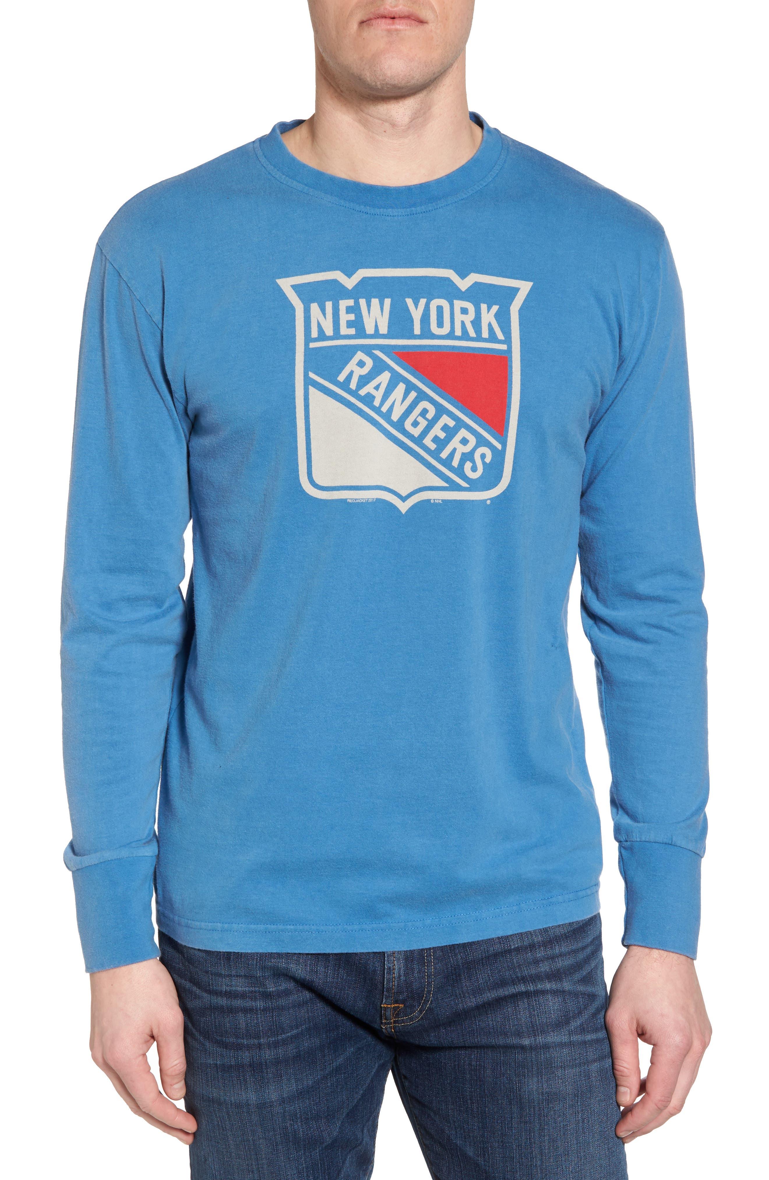 Gresham New York Rangers T-Shirt,                         Main,                         color, Royal