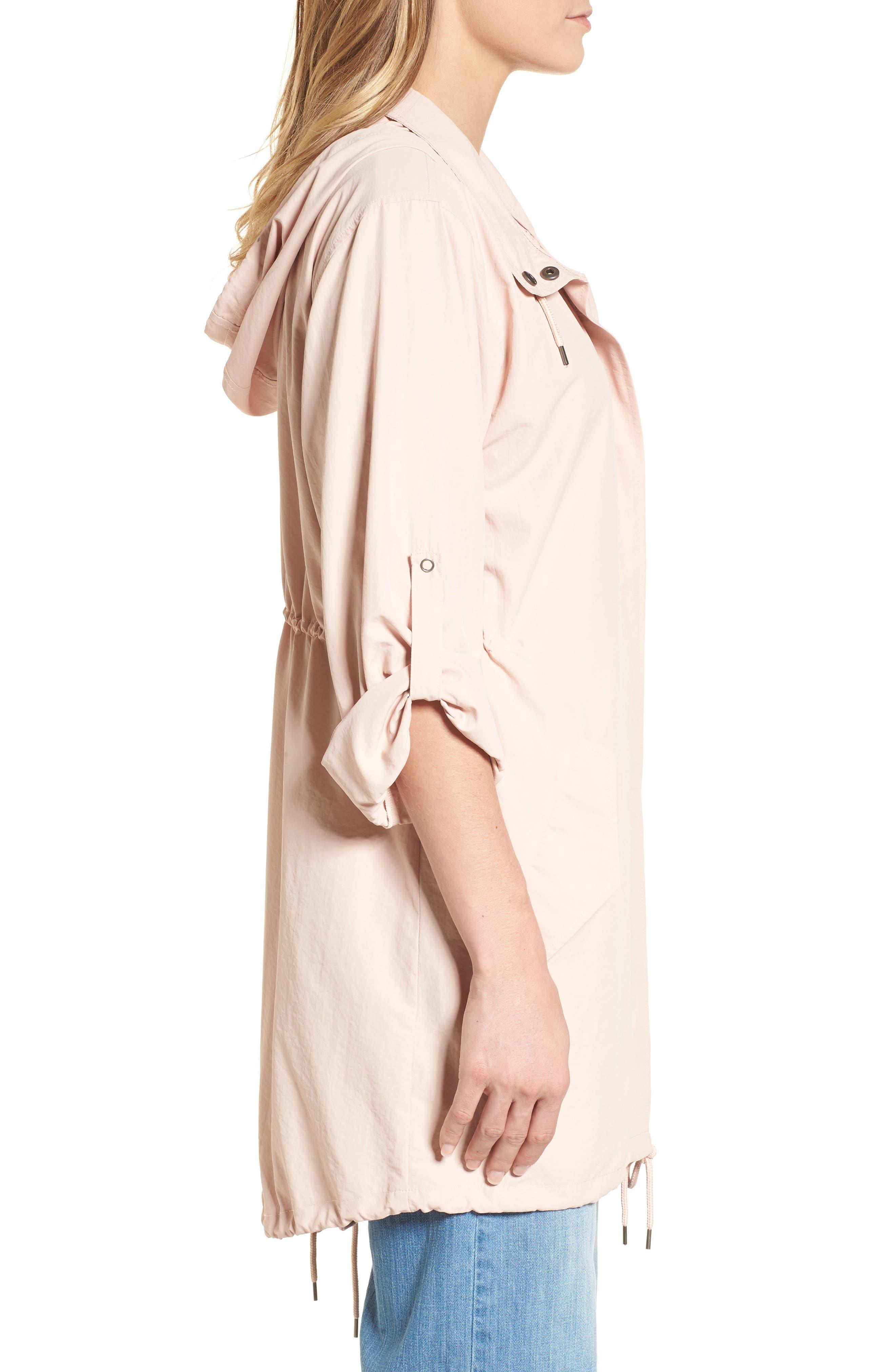 Alternate Image 3  - Caslon® Tumbled Anorak Jacket (Regular & Petite)