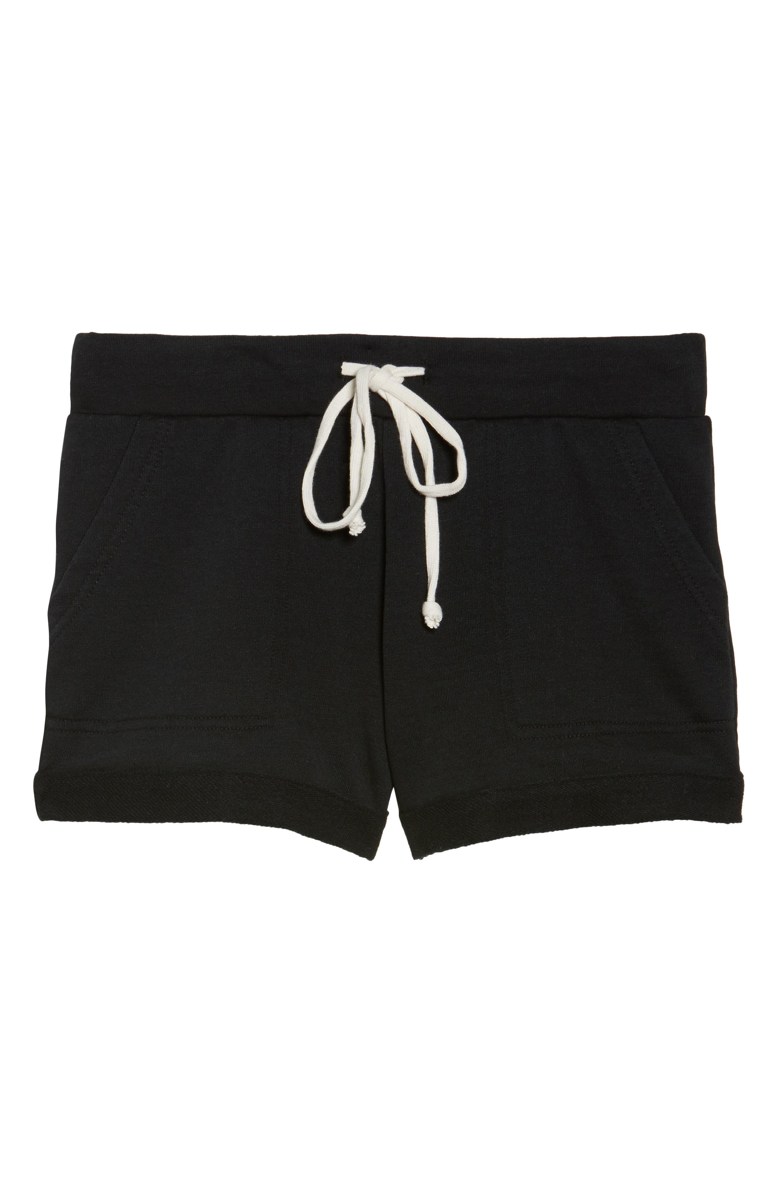 Lounge Shorts,                             Alternate thumbnail 4, color,                             True Black