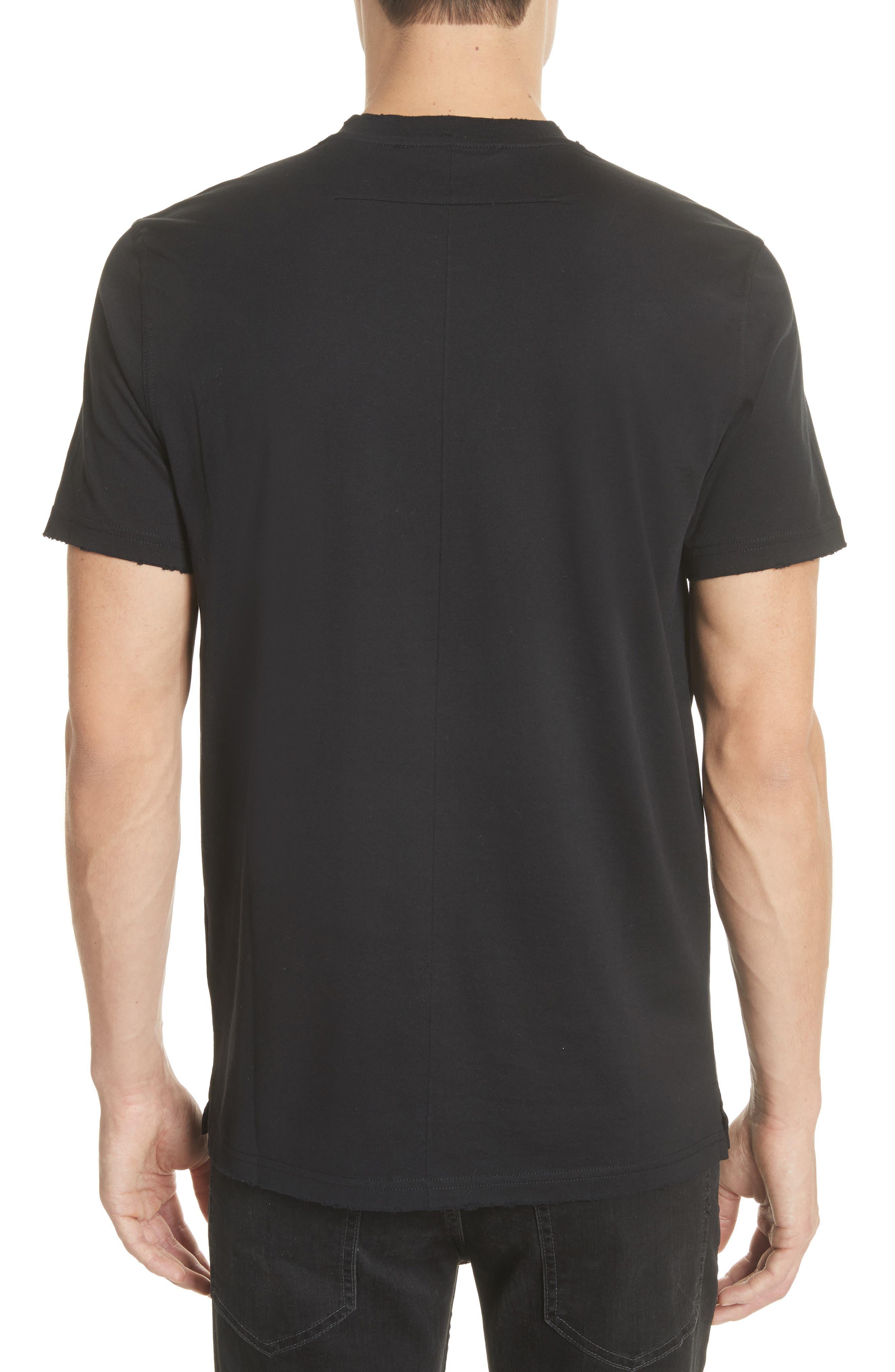 Boxing Logo T-Shirt,                             Alternate thumbnail 2, color,                             Black