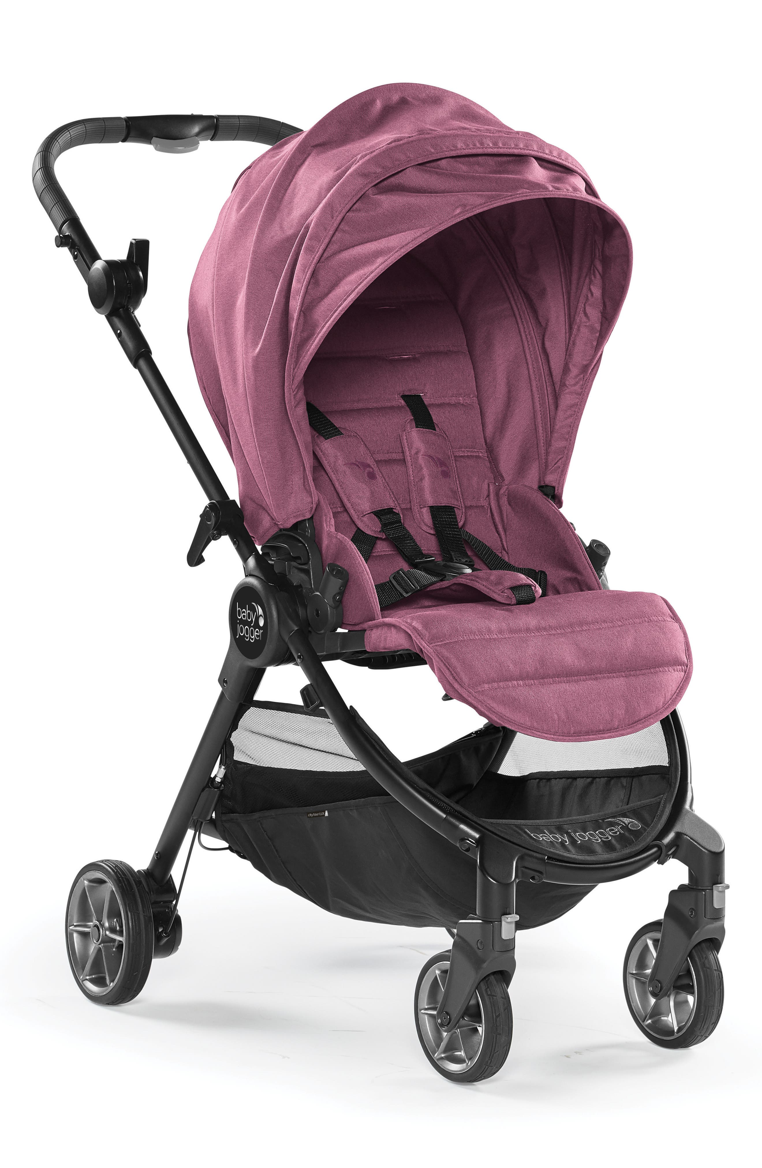 City Tour<sup>™</sup> LUX 2018 Folding Stroller,                         Main,                         color, Rosewood