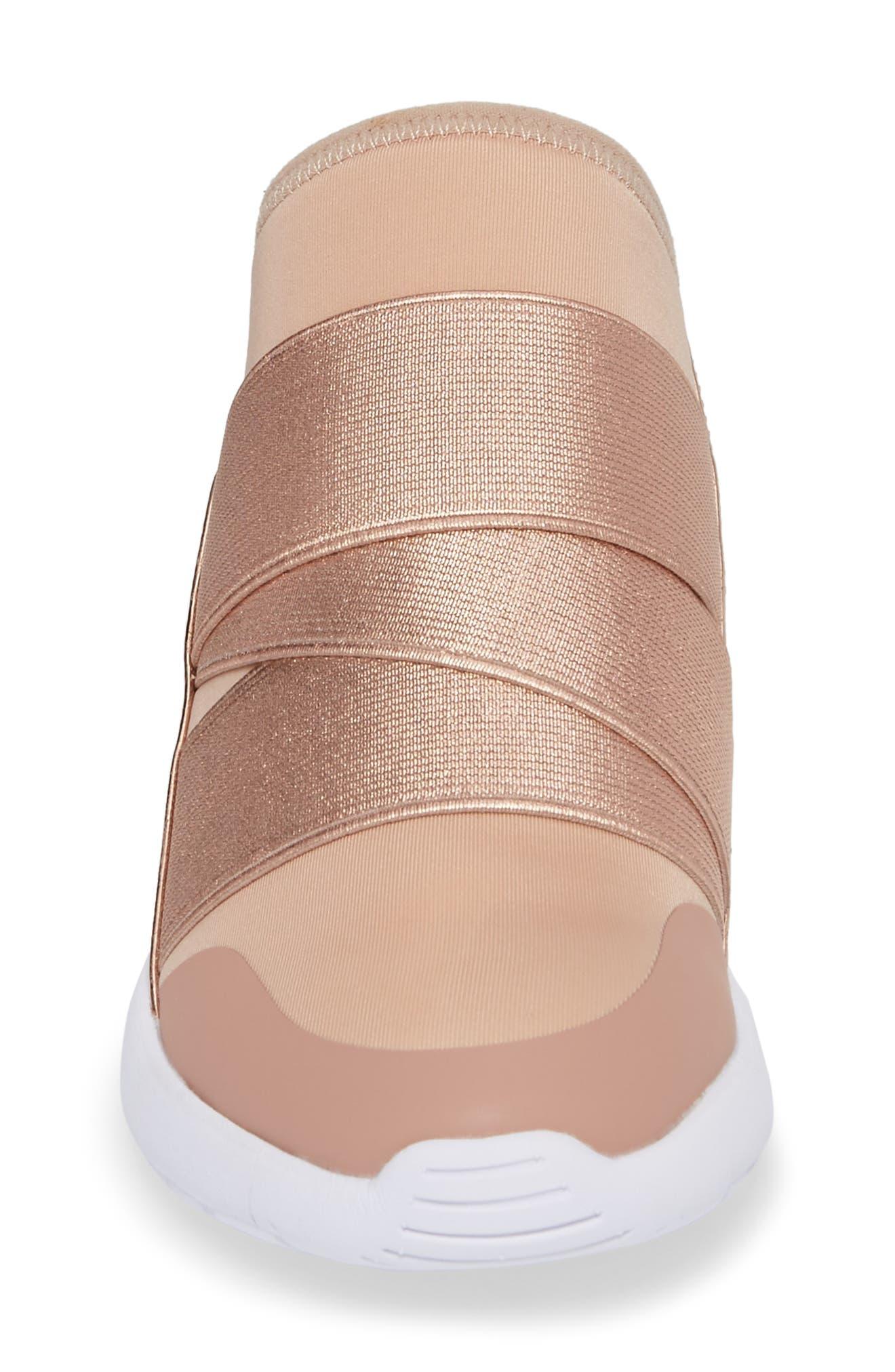 Vine Slip-On Sneaker,                             Alternate thumbnail 4, color,                             Blush