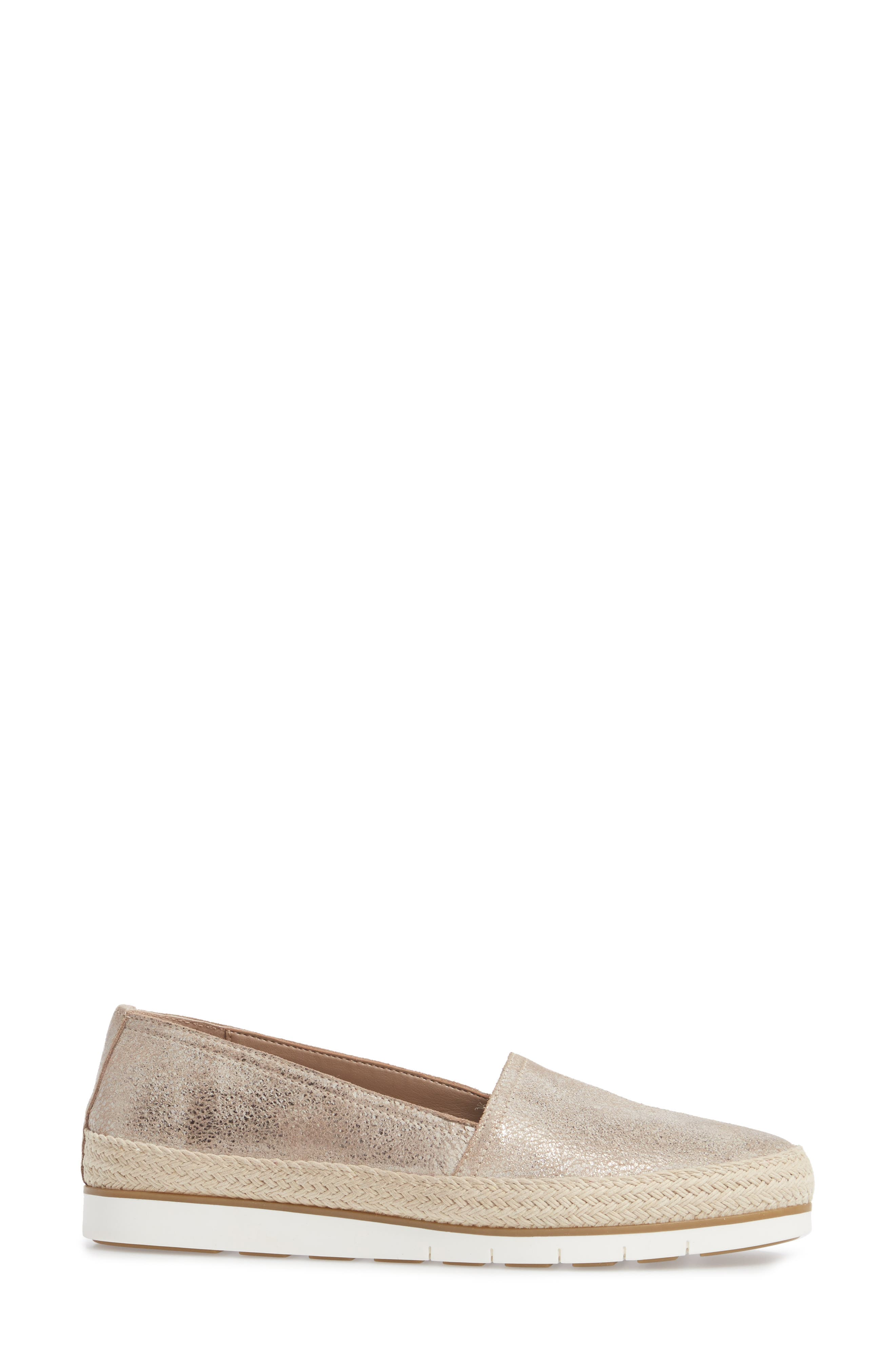 Palm Slip-On Sneaker,                             Alternate thumbnail 3, color,                             Taupe Fabric