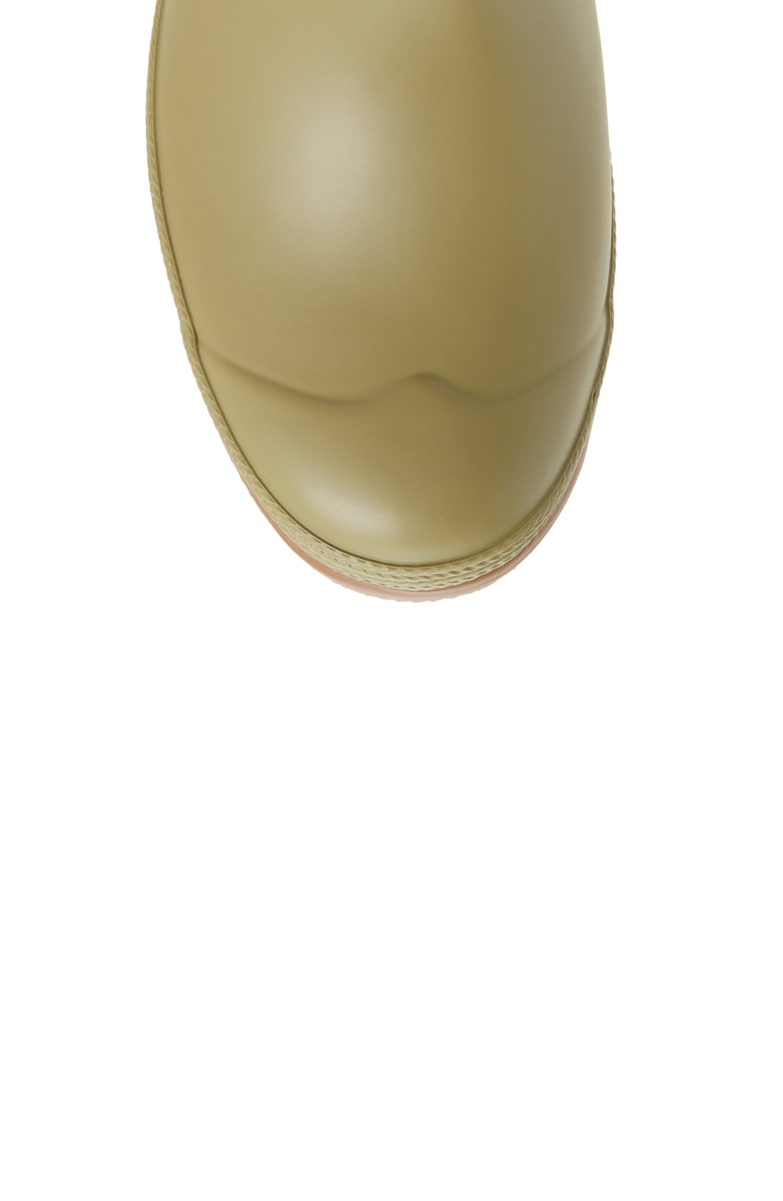 Original Sissinghurst Tall Rain Boot,                             Alternate thumbnail 5, color,                             Sage/ Moor Green