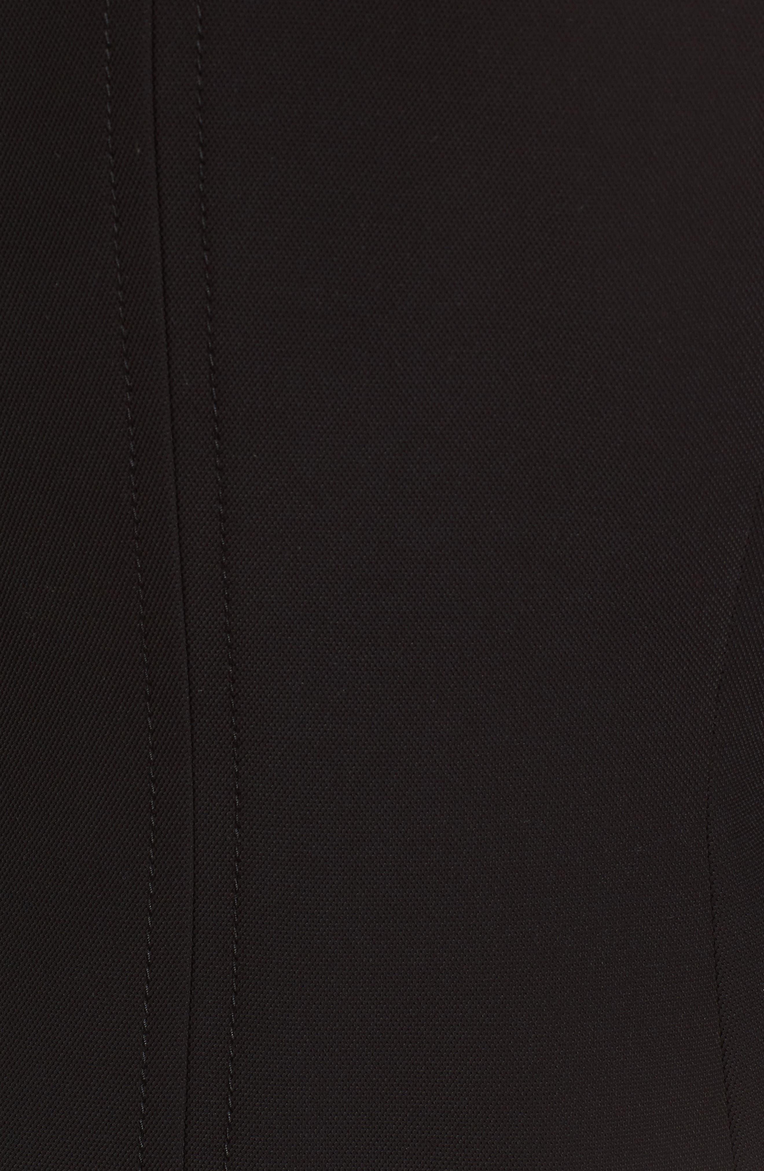 Juriona Crop Jacket,                             Alternate thumbnail 5, color,                             Black