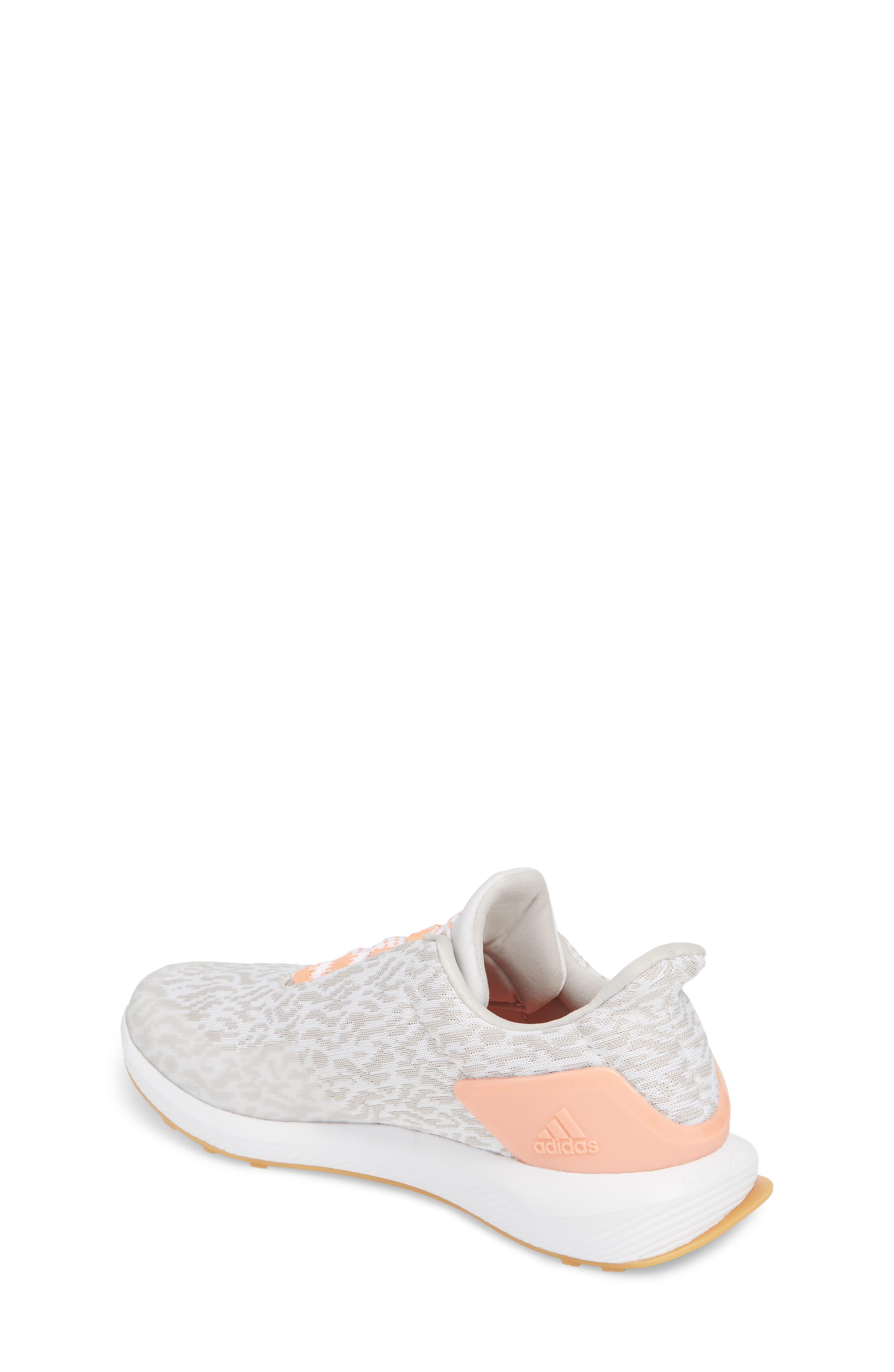 RapidaRun Uncaged Sneaker,                             Alternate thumbnail 2, color,                             White / Pearl/ Coral