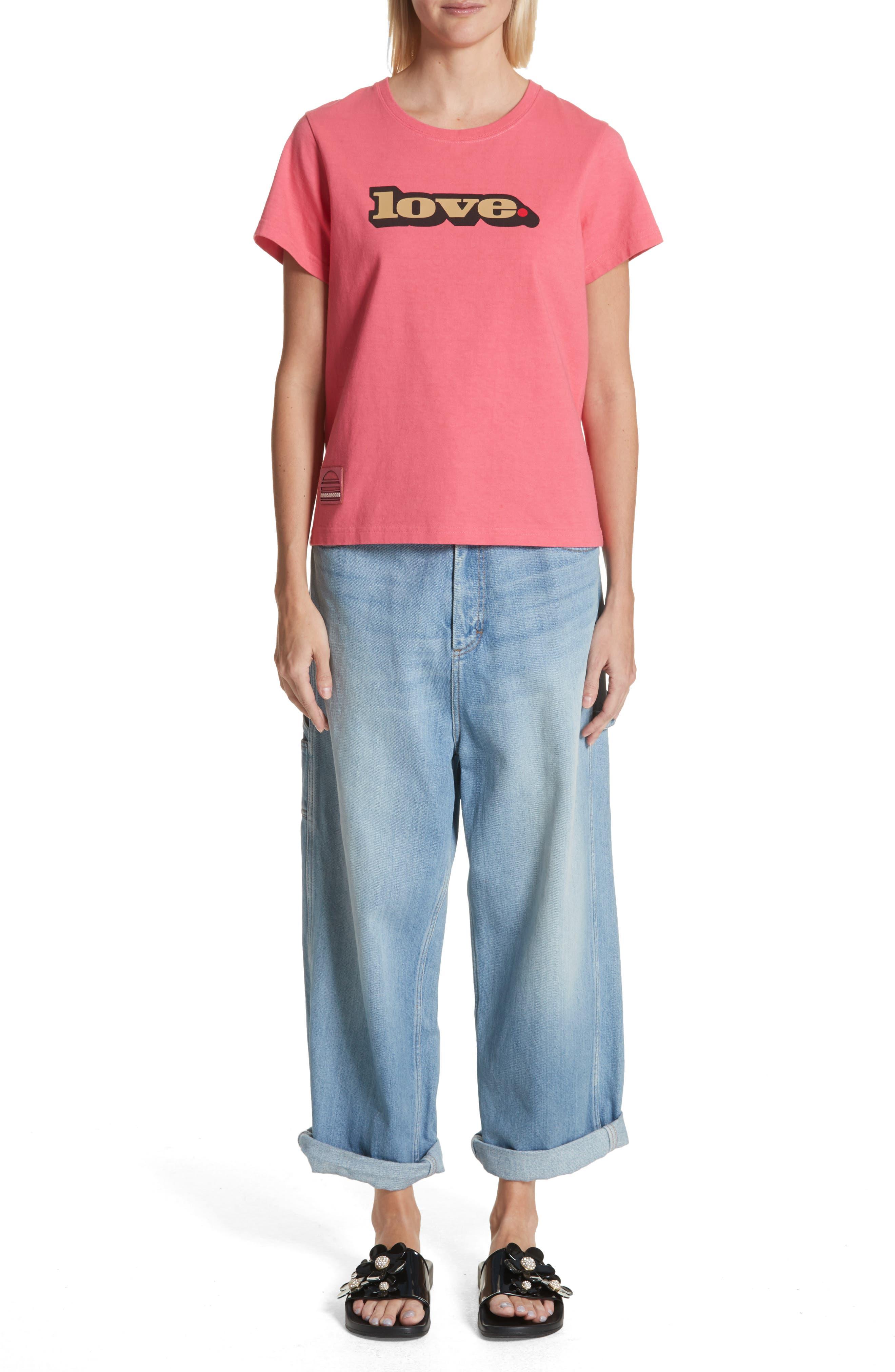 Wide Leg Carpenter Jeans,                             Alternate thumbnail 3, color,                             Vintage Indigo