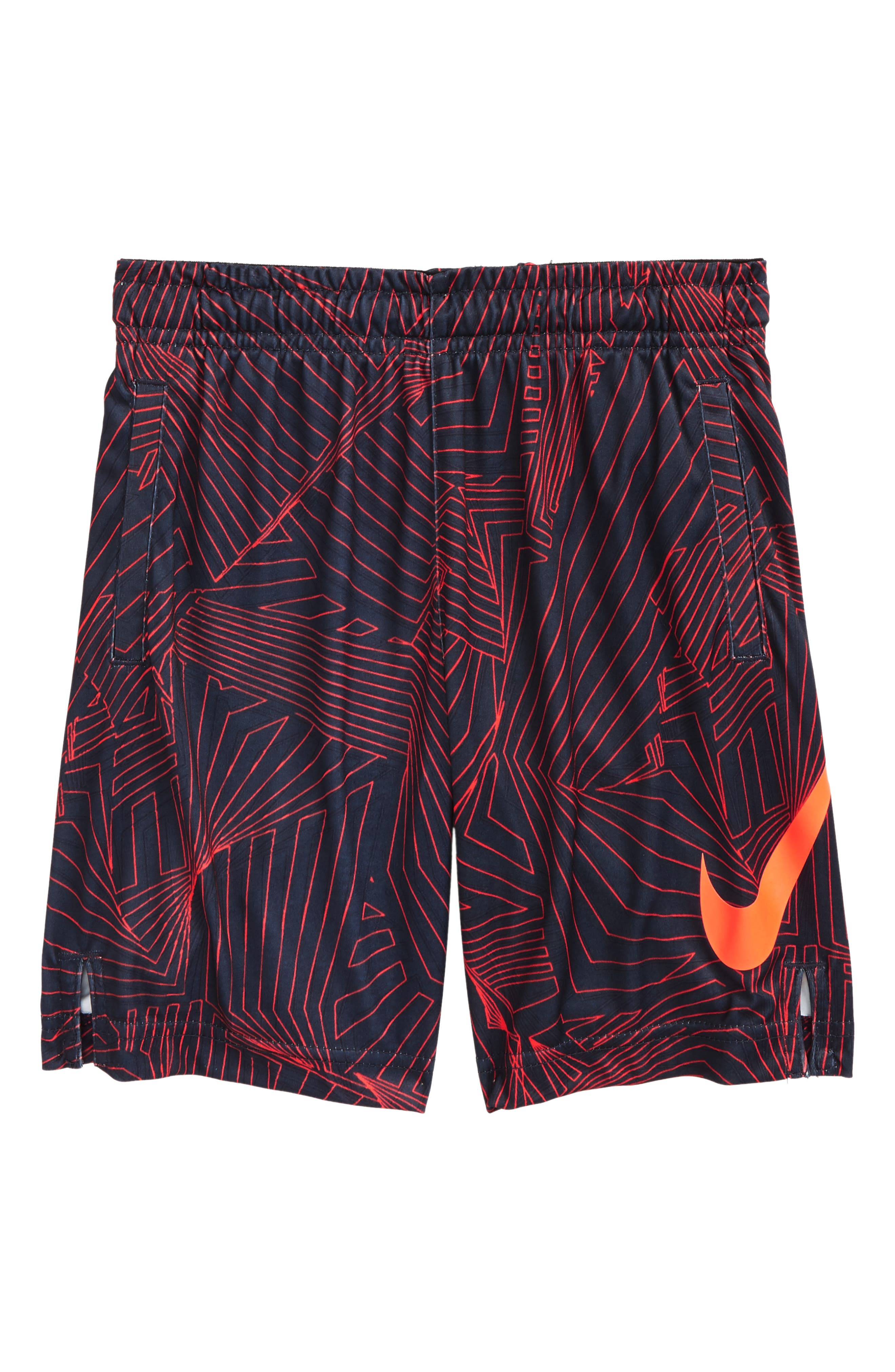 AOP Dry Shorts,                         Main,                         color, Thunder Blue
