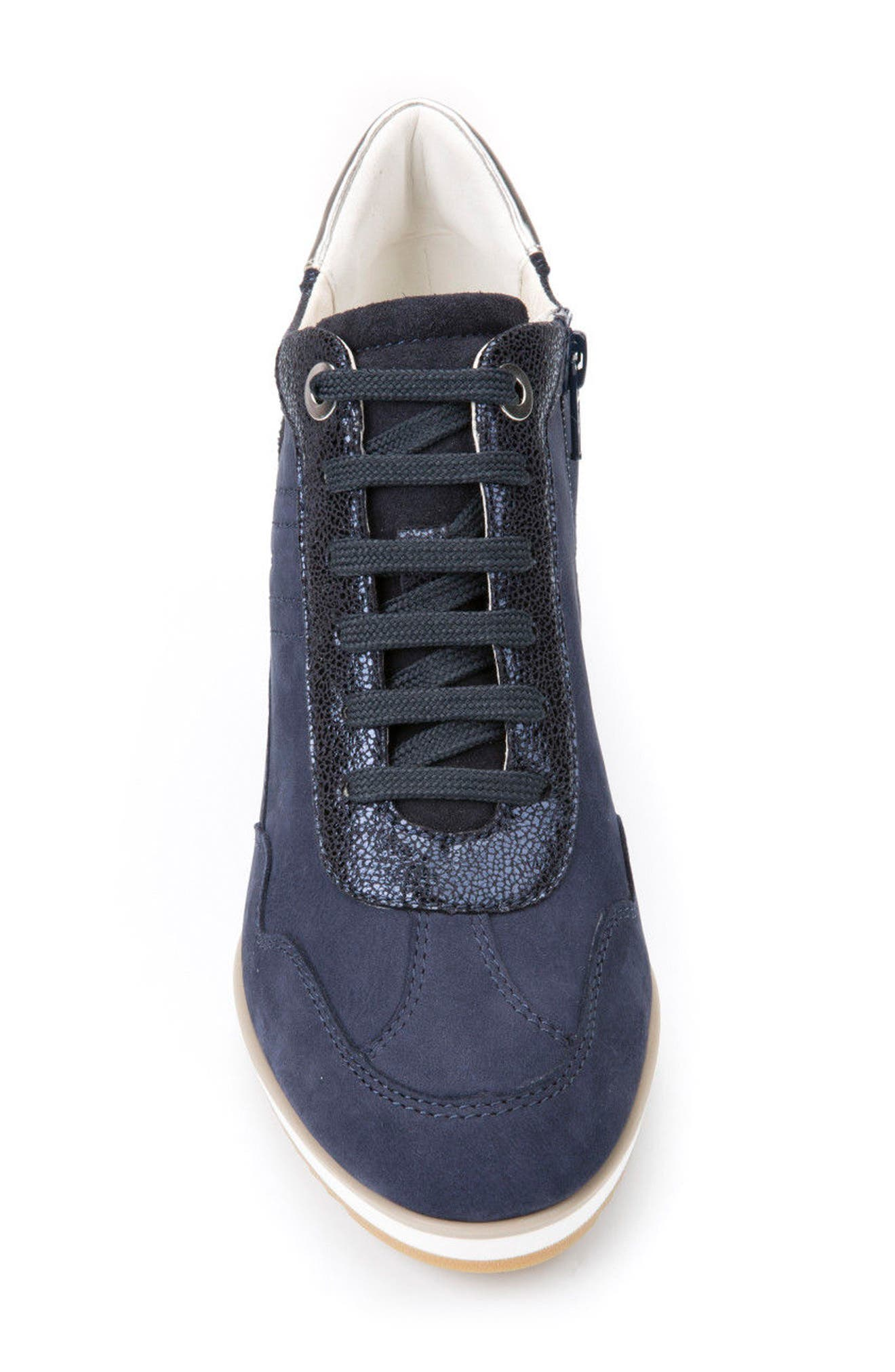Alternate Image 4  - Geox Illusion 34 Wedge Sneaker (Women)