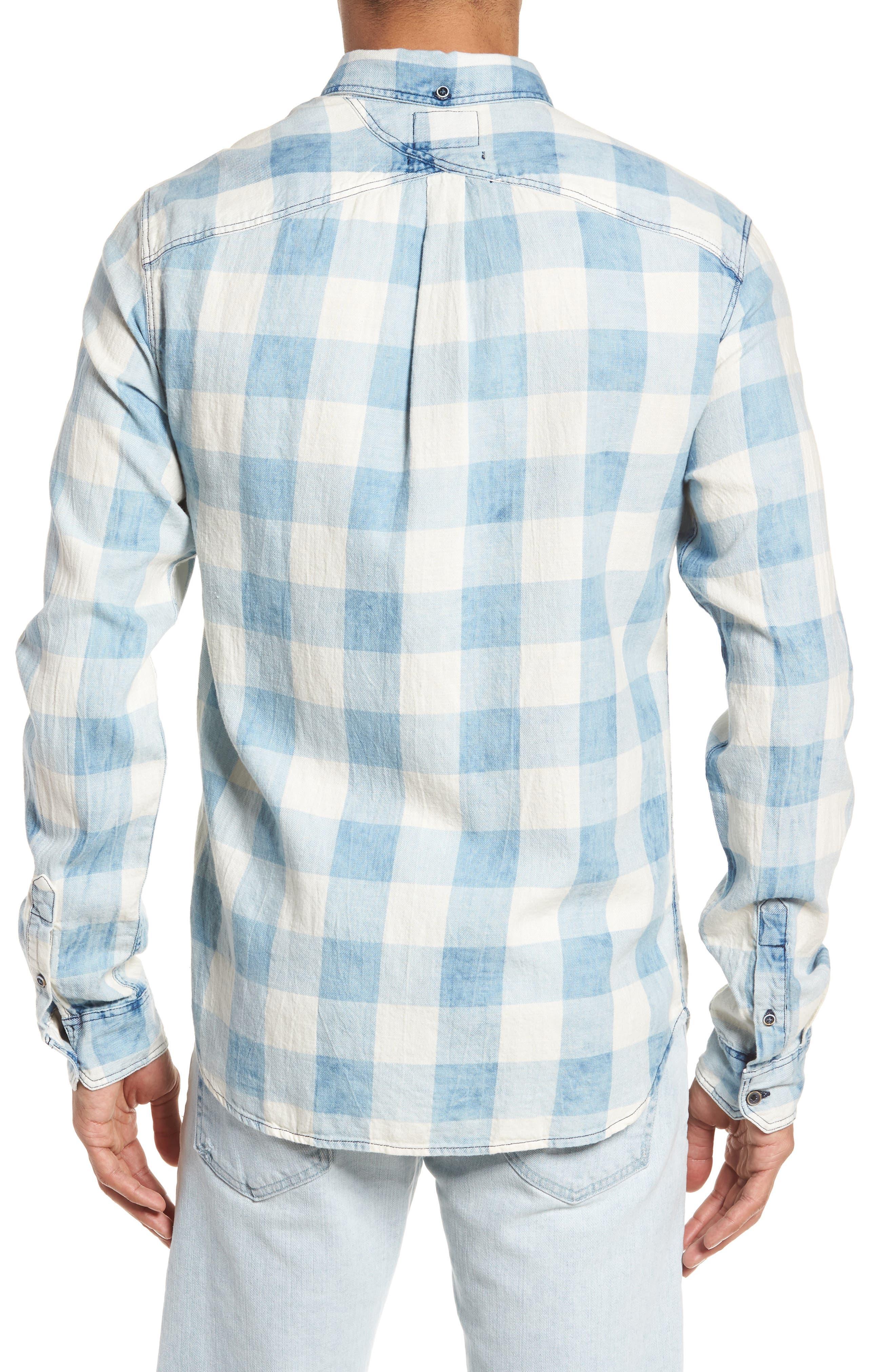 Amsterdams Blauw Check Shirt,                             Alternate thumbnail 2, color,                             Combo A