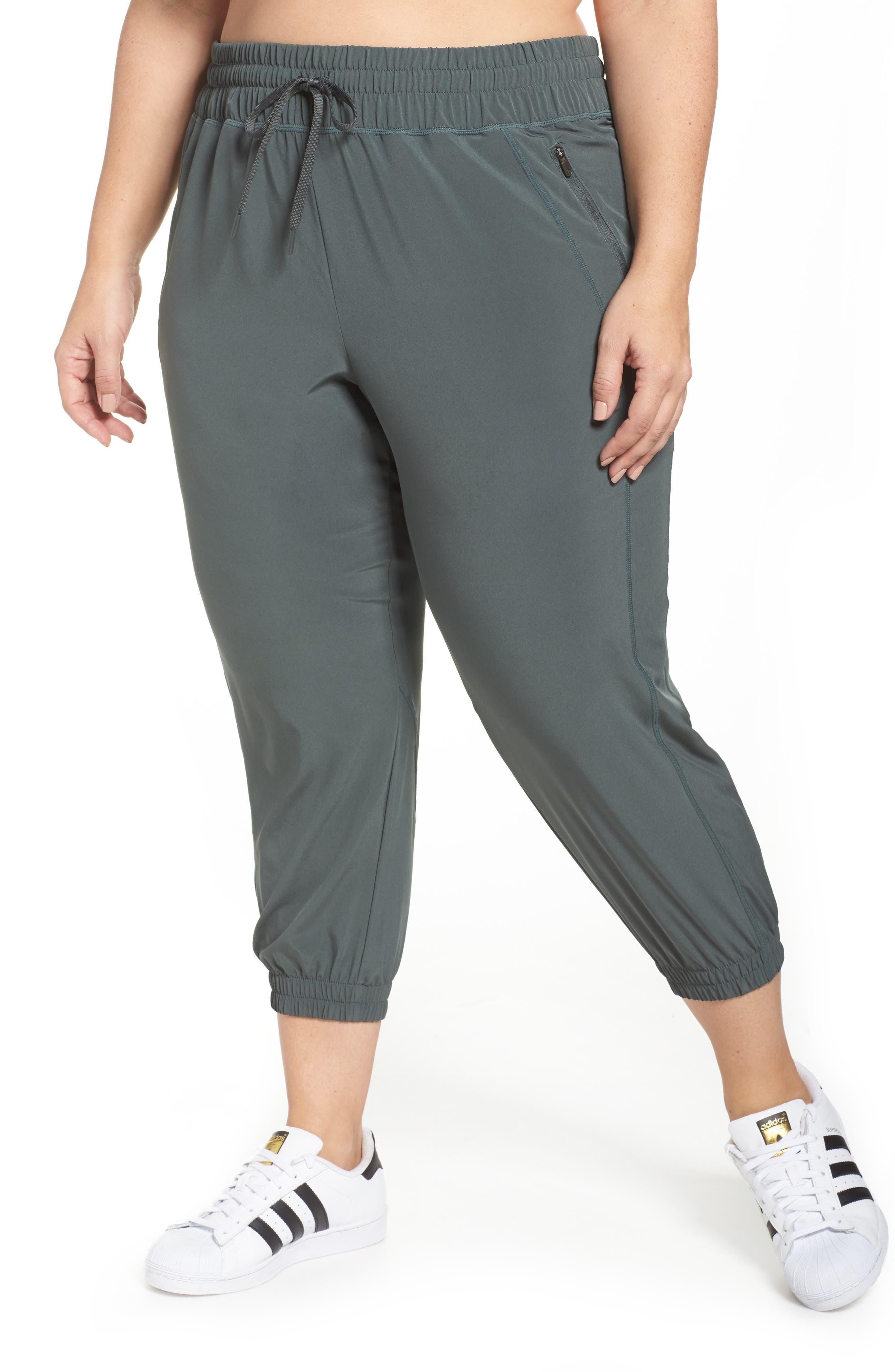 Zella Out & About 2 Crop Pants (Plus Size)