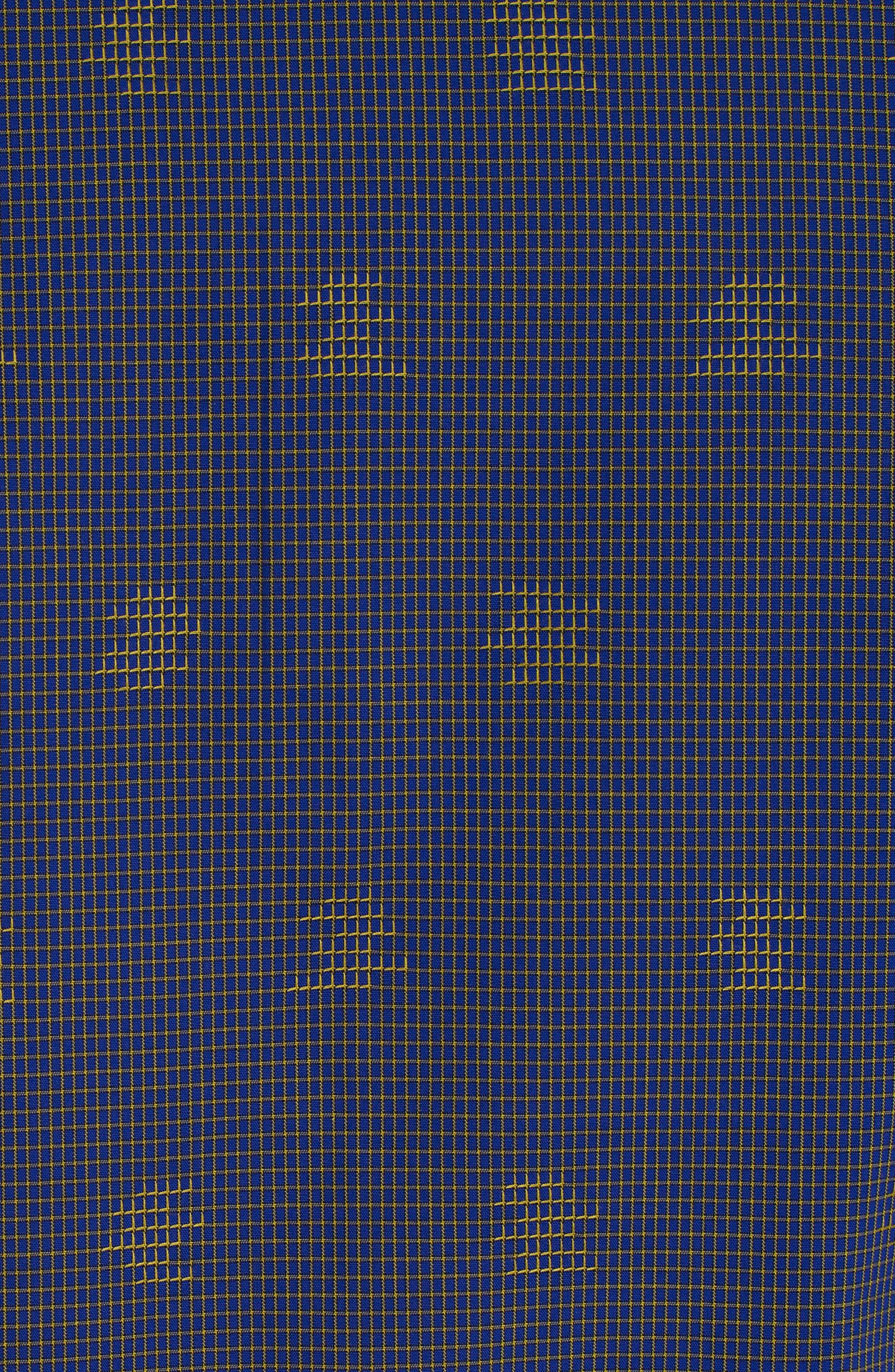 Vidin Regular Fit Jacquard Dot Sport Shirt,                             Alternate thumbnail 6, color,                             Blue