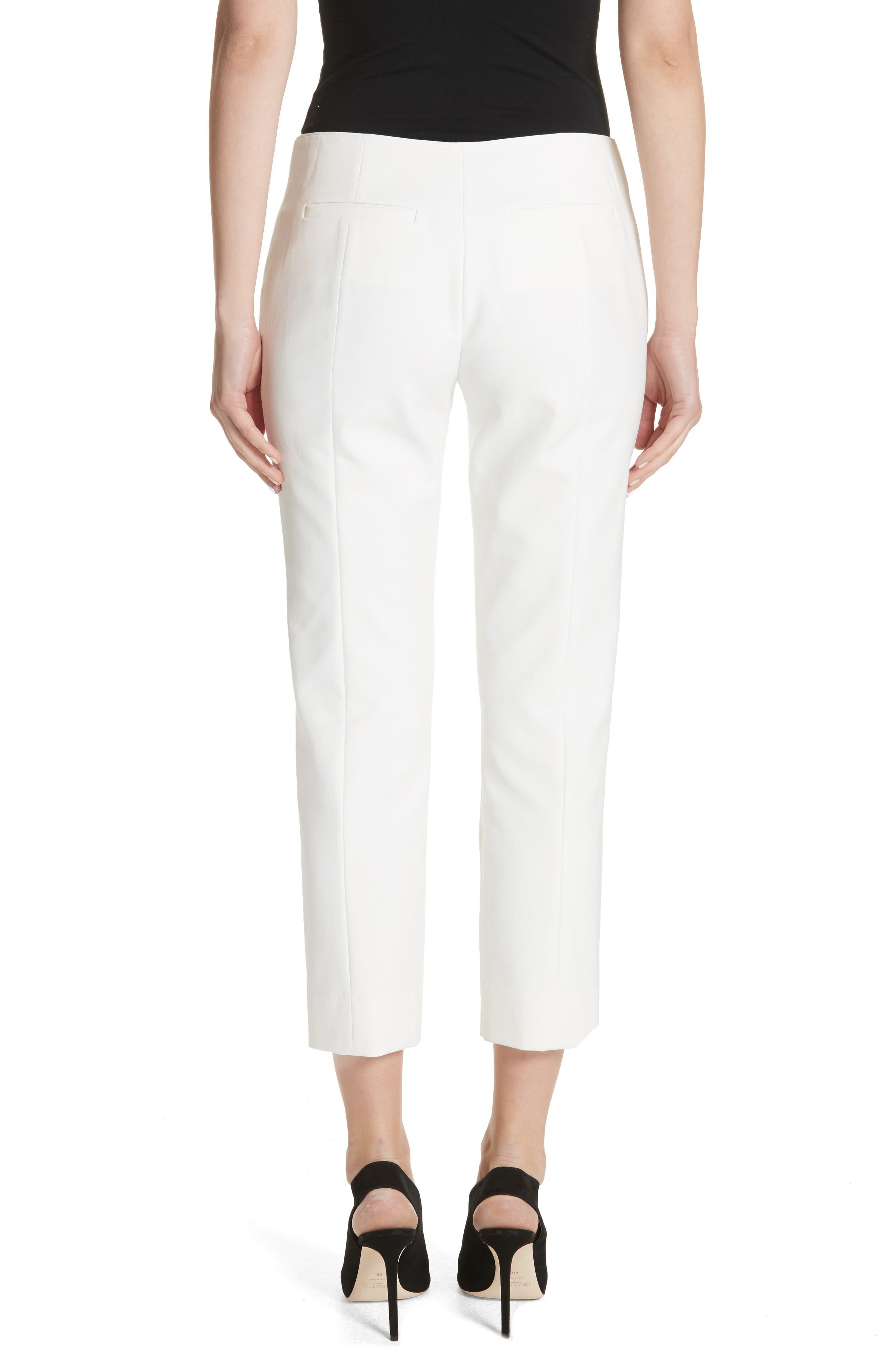 Tech Cotton Blend Pants,                             Alternate thumbnail 2, color,                             Warm White
