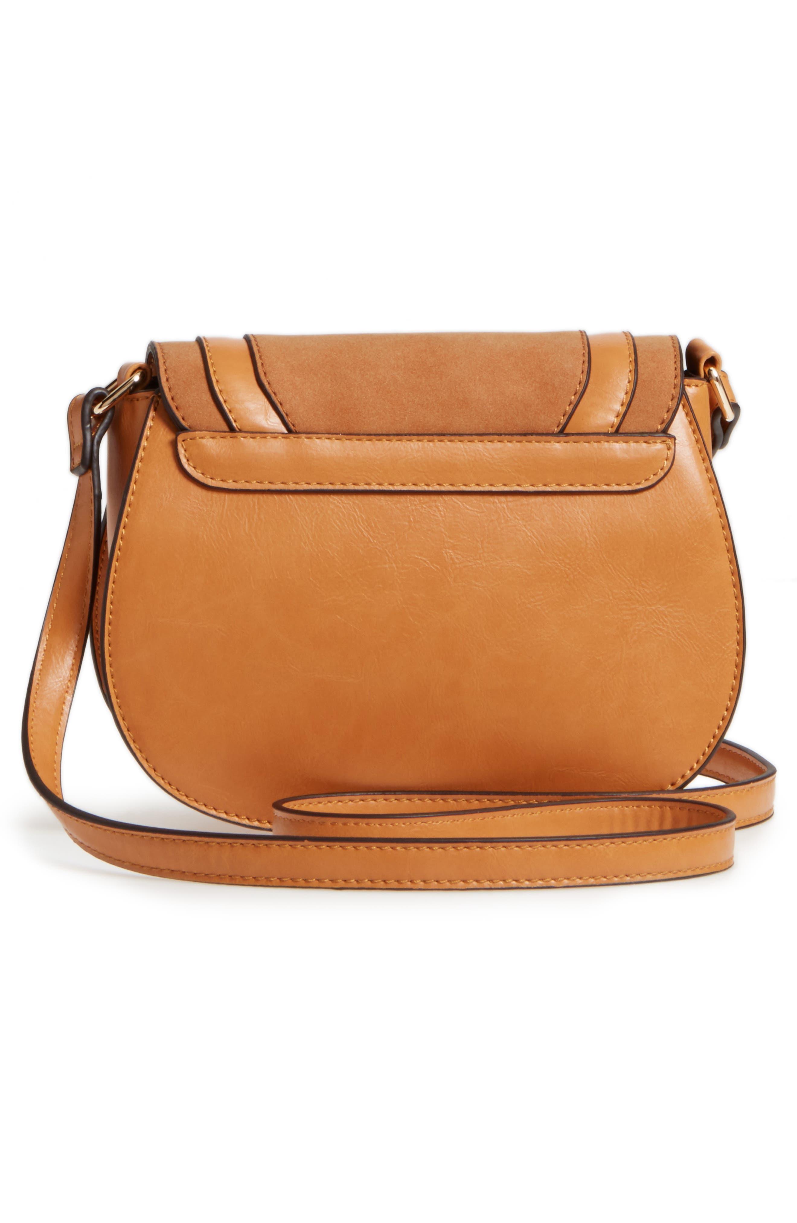 Alternate Image 3  - Sole Society Bryson Faux Leather Crossbody Bag