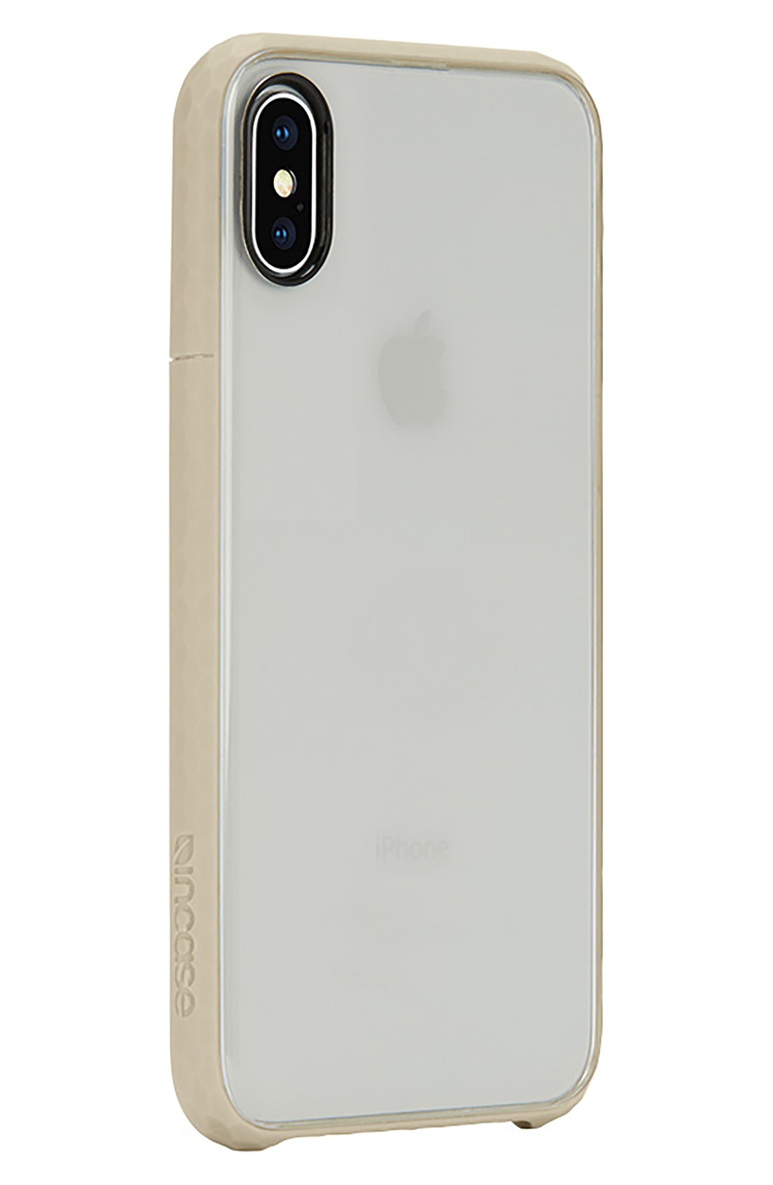 Pop iPhone X Case,                             Alternate thumbnail 2, color,                             Gold