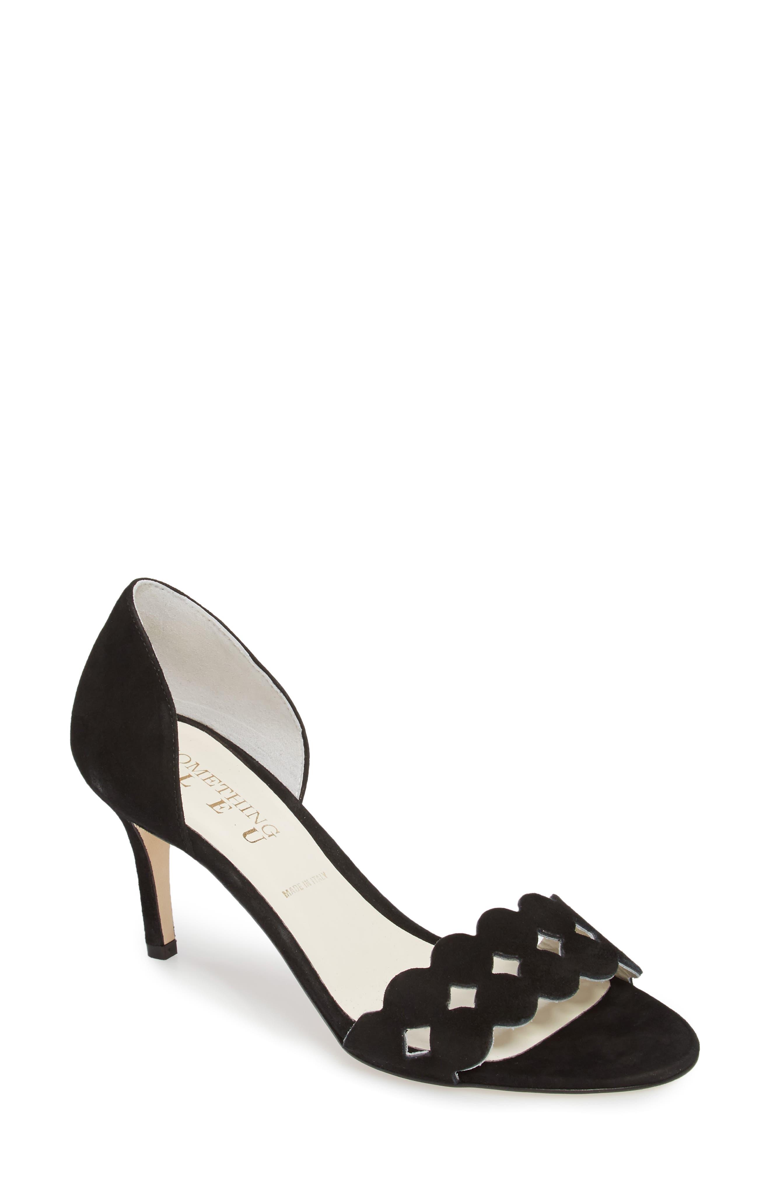 SOMETHING BLEU Women's Godiva Imitation Pearl Buckle Sandal 1MTpZ