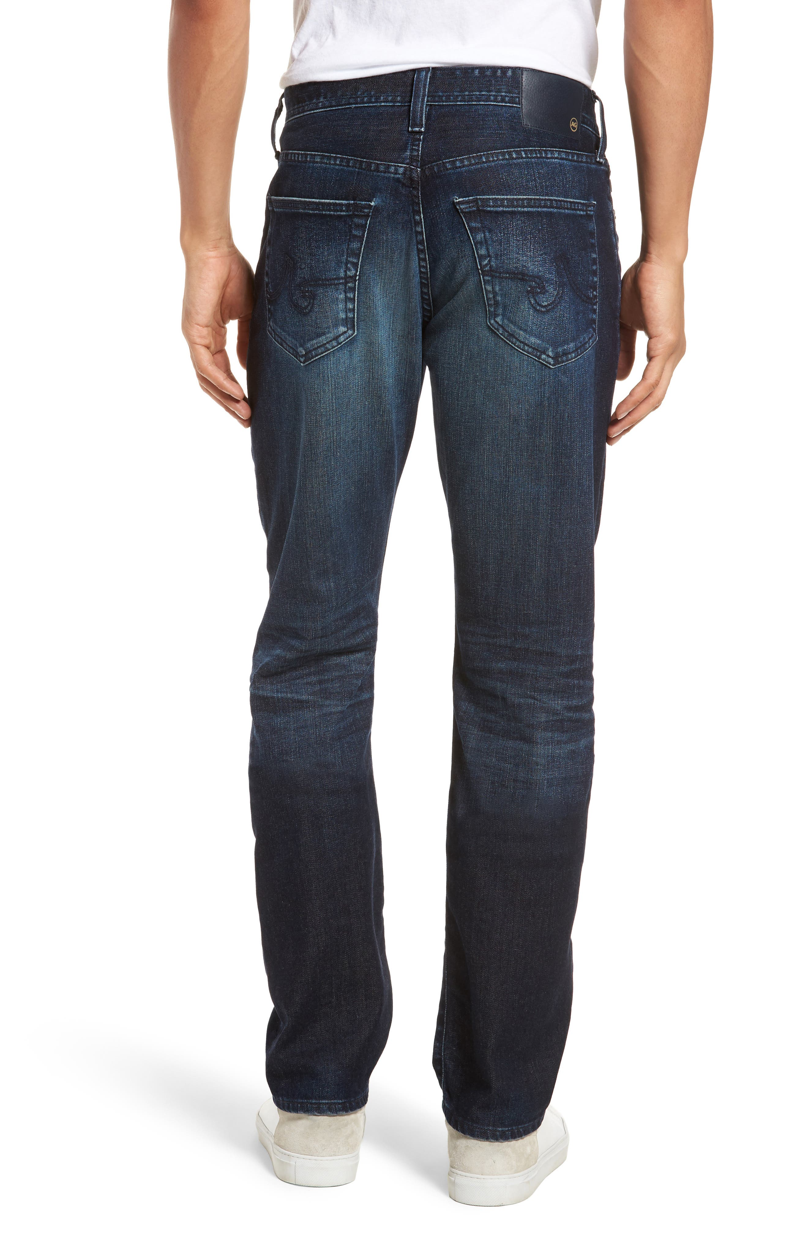 Everett Slim Straight Fit Jeans,                             Alternate thumbnail 2, color,                             3 Years Trentwood