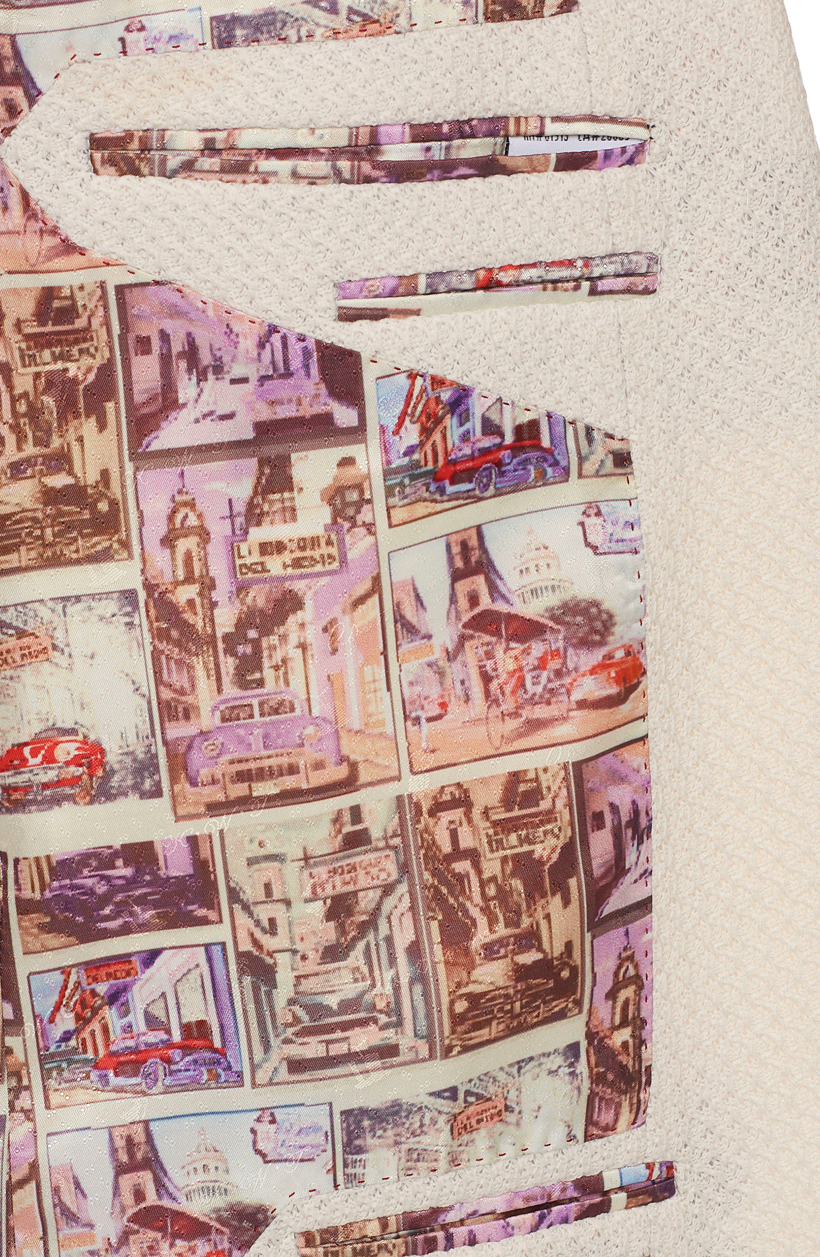 Lauros Woven Sport Coat,                             Alternate thumbnail 3, color,                             Ivory