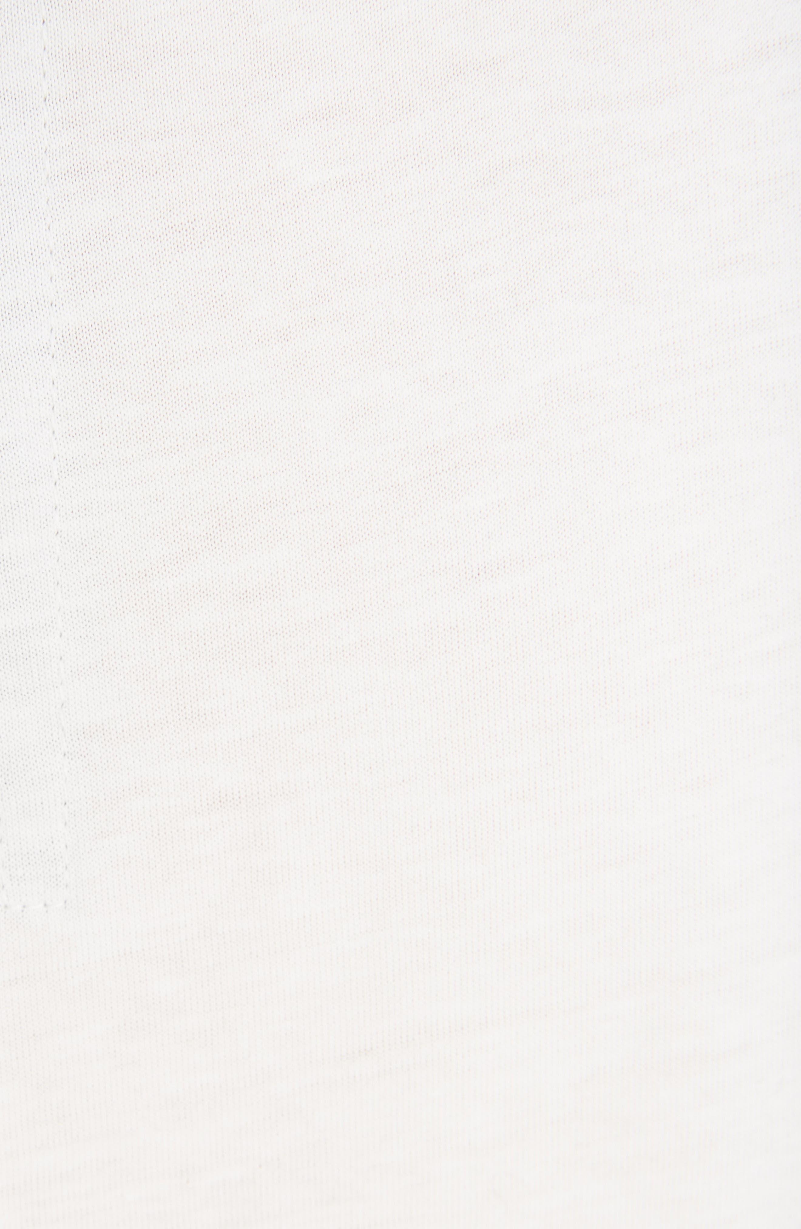 Jersey Tank Top,                             Alternate thumbnail 5, color,                             Chalk White