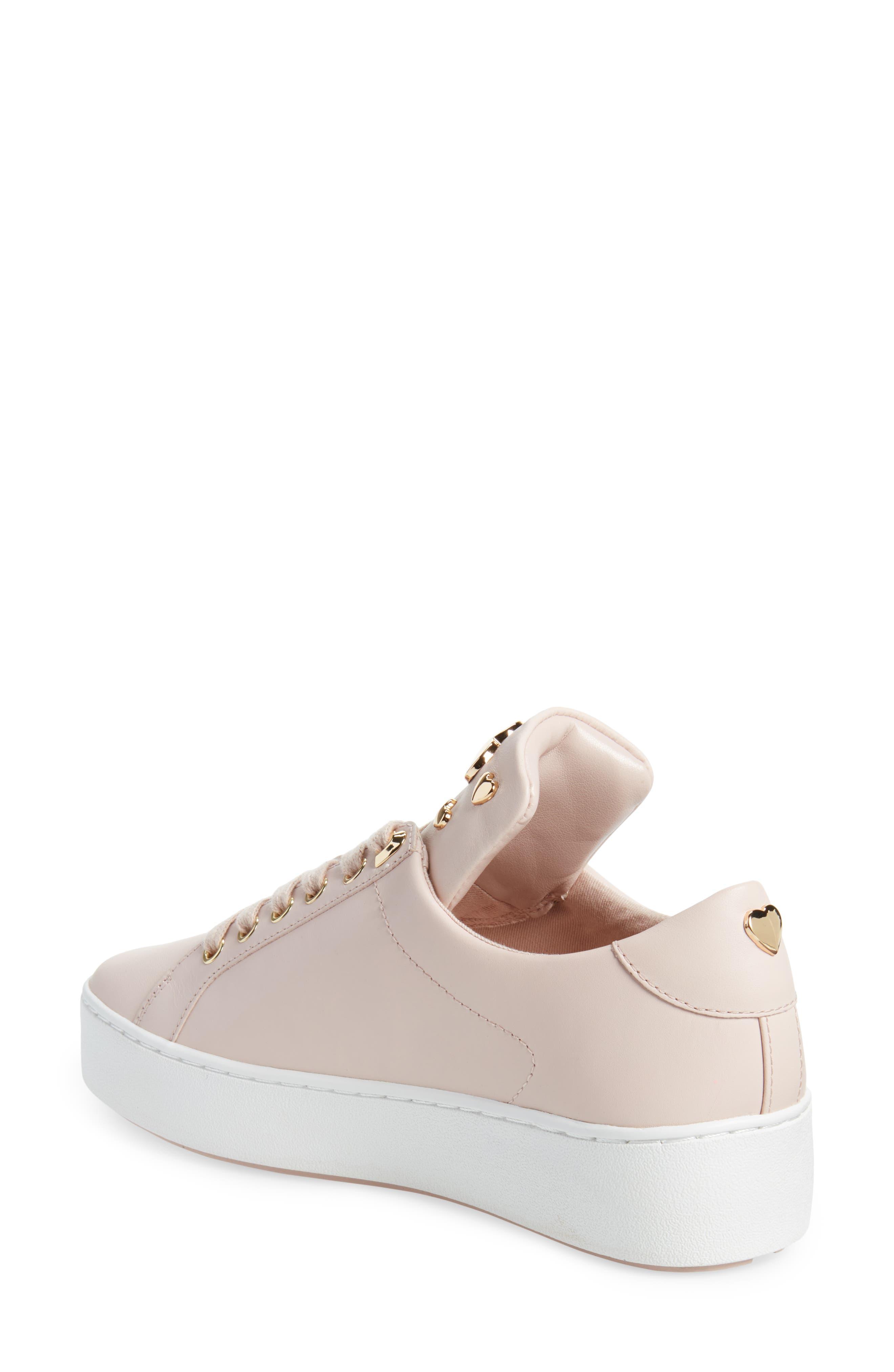 Mindy Platform Sneaker,                             Alternate thumbnail 2, color,                             Soft Pink Studs