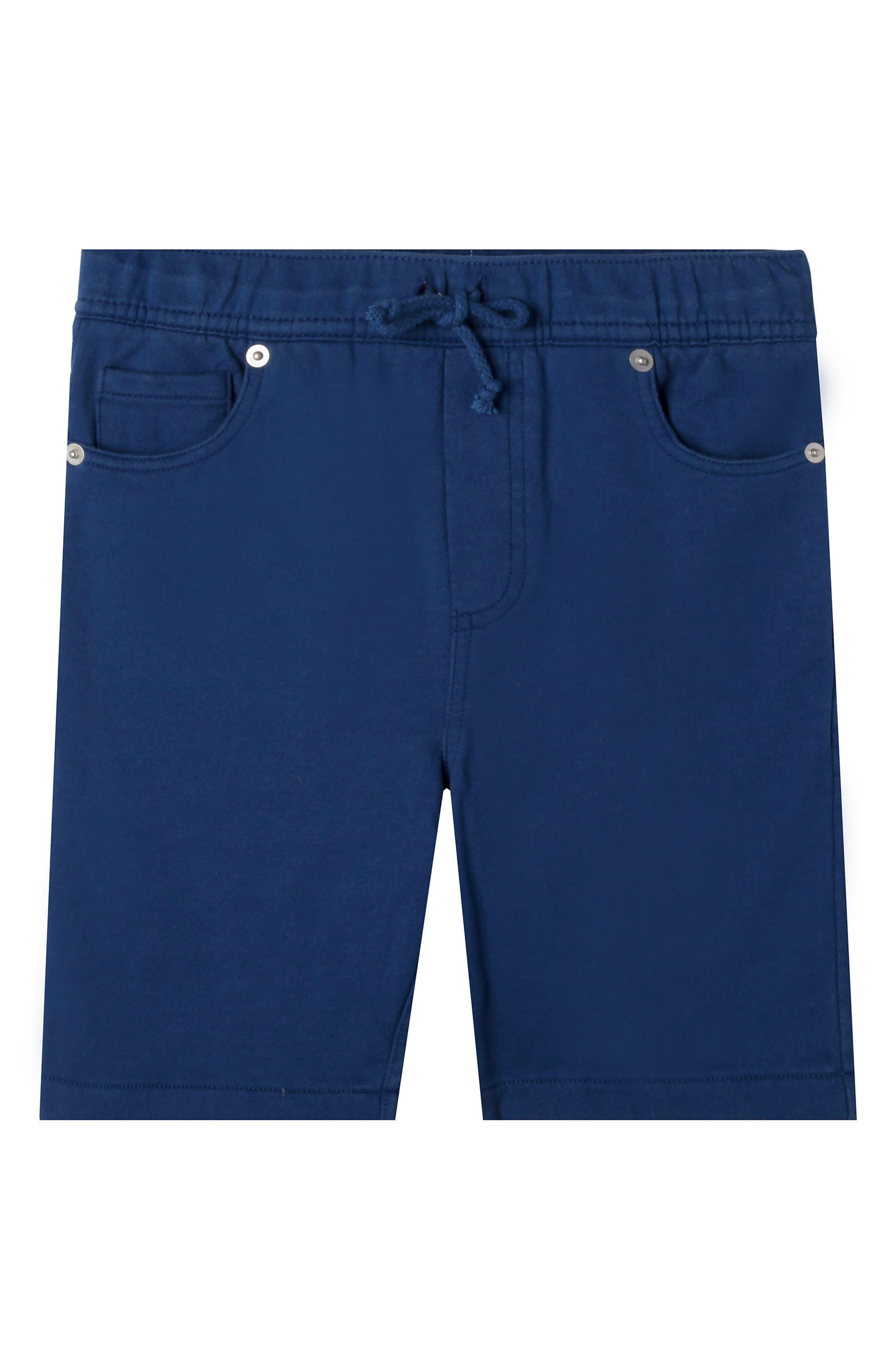 Anthony Drawstring Jeans Short,                         Main,                         color, Ocean Blue