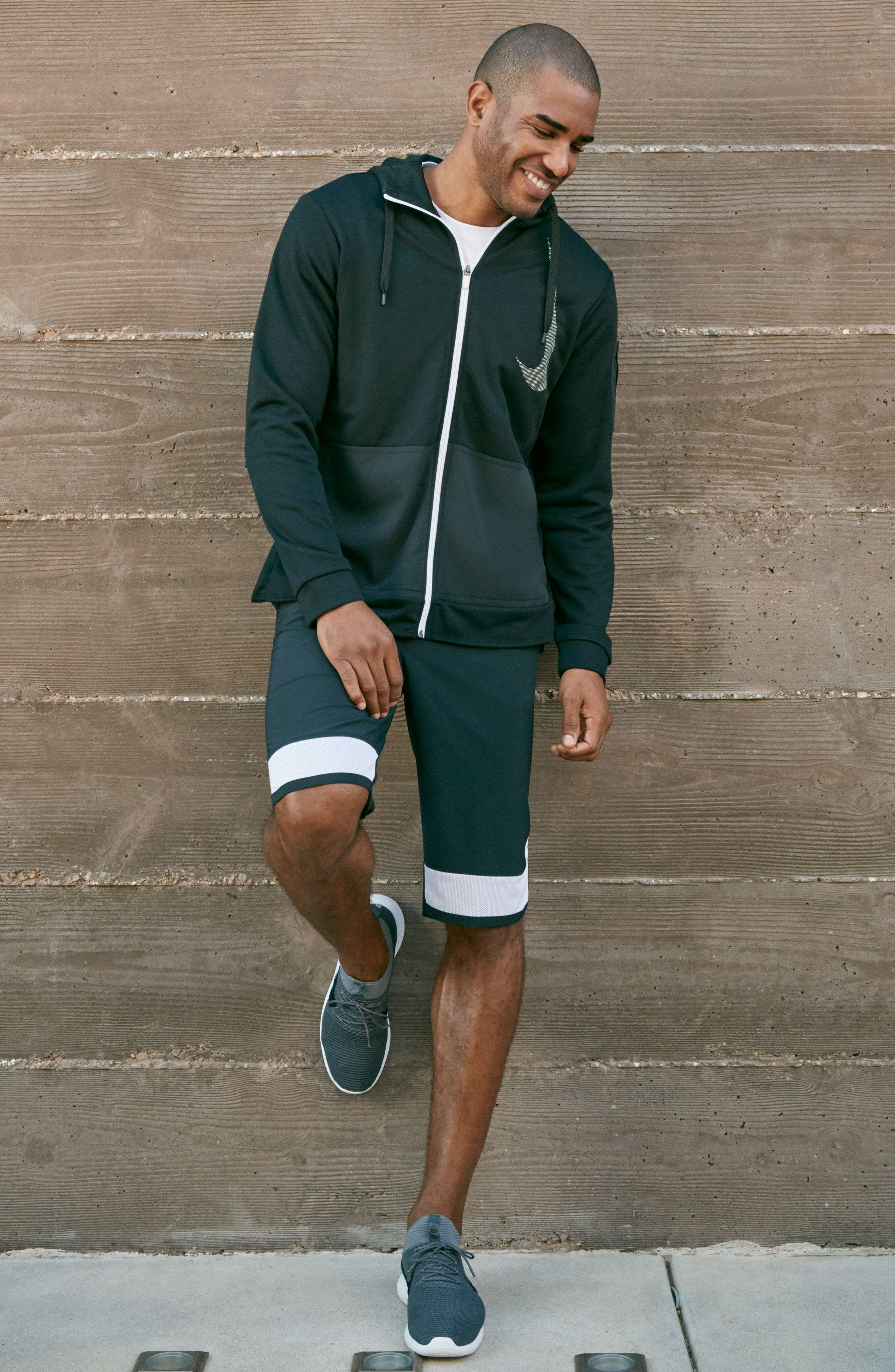 Alternate Image 7  - Nike Training Dry PX Zip Hoodie